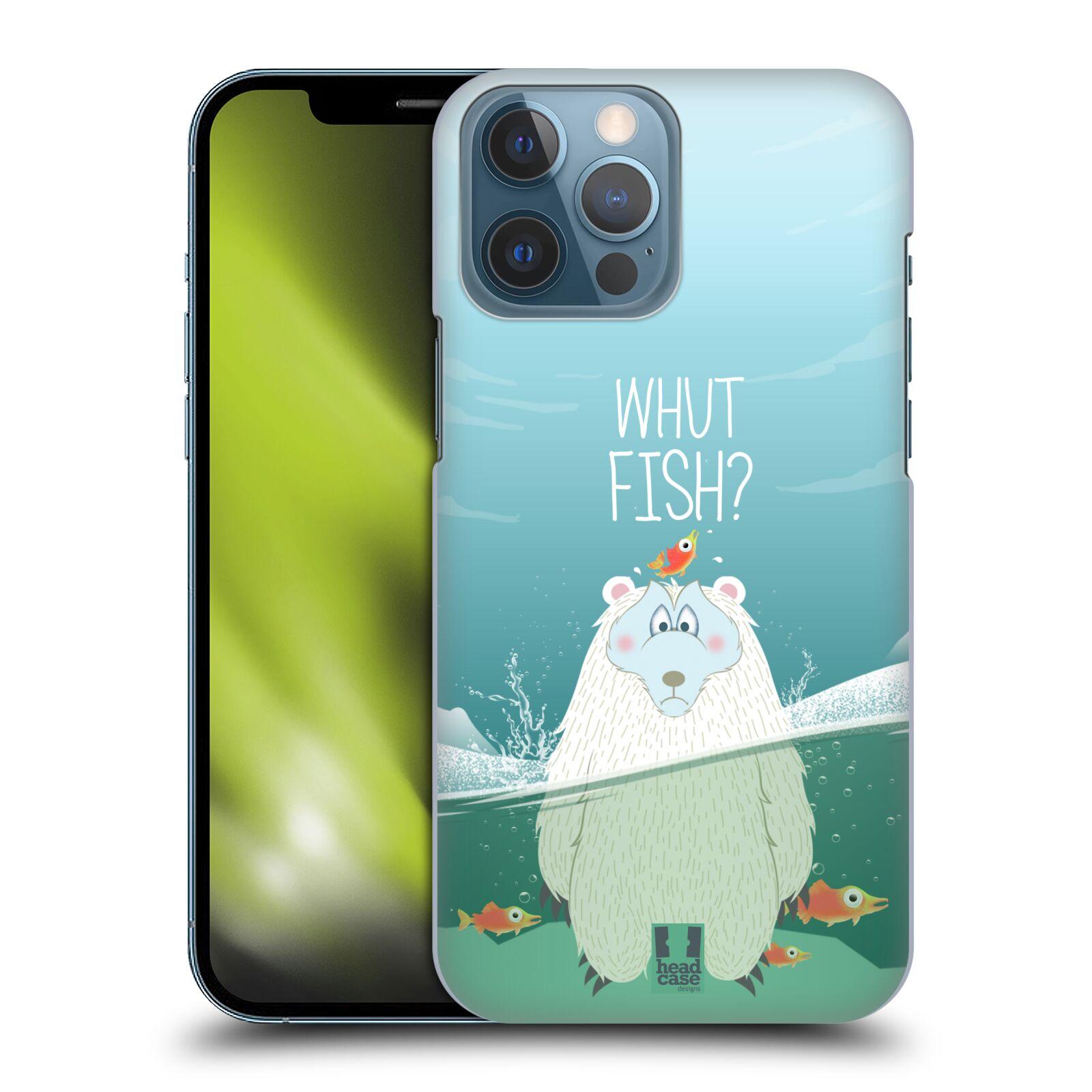 Plastové pouzdro na mobil Apple iPhone 13 Pro Max - Head Case - Medvěd Whut Fish?