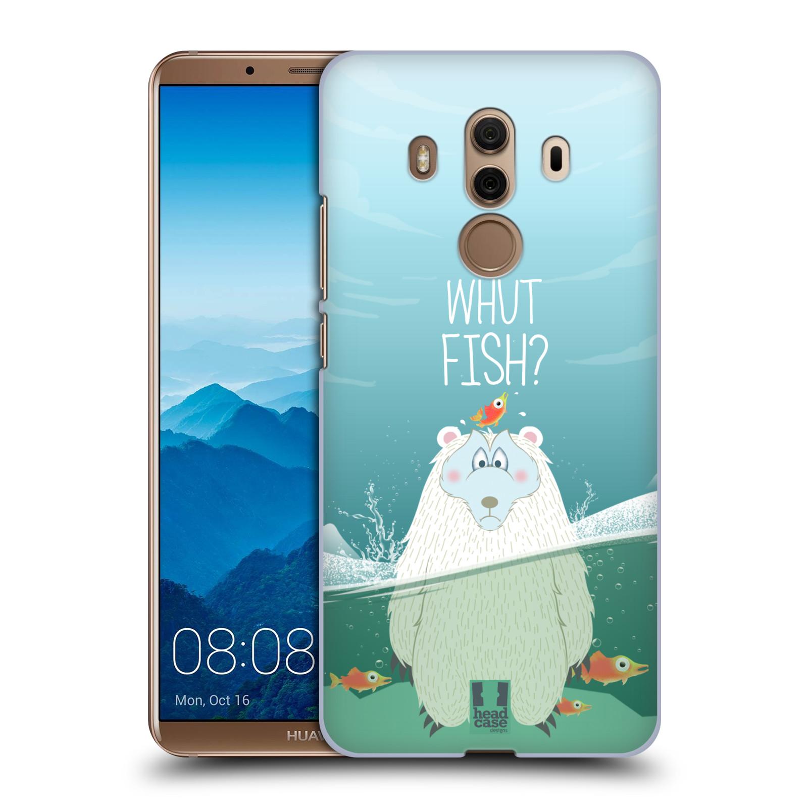 Plastové pouzdro na mobil Huawei Mate 10 Pro - Head Case - Medvěd Whut Fish?