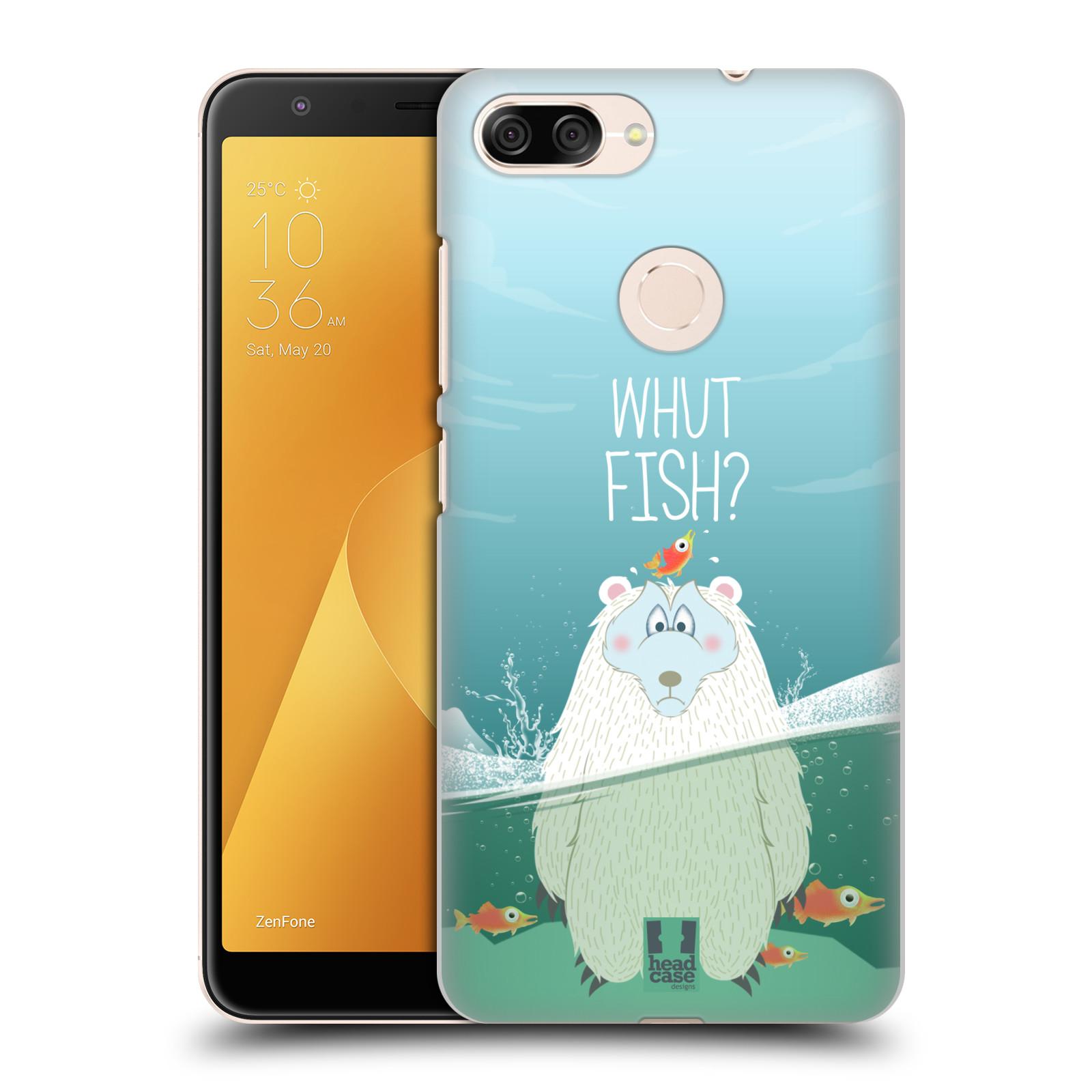 Plastové pouzdro na mobil Asus ZenFone Max Plus (M1) - Head Case - Medvěd Whut Fish?