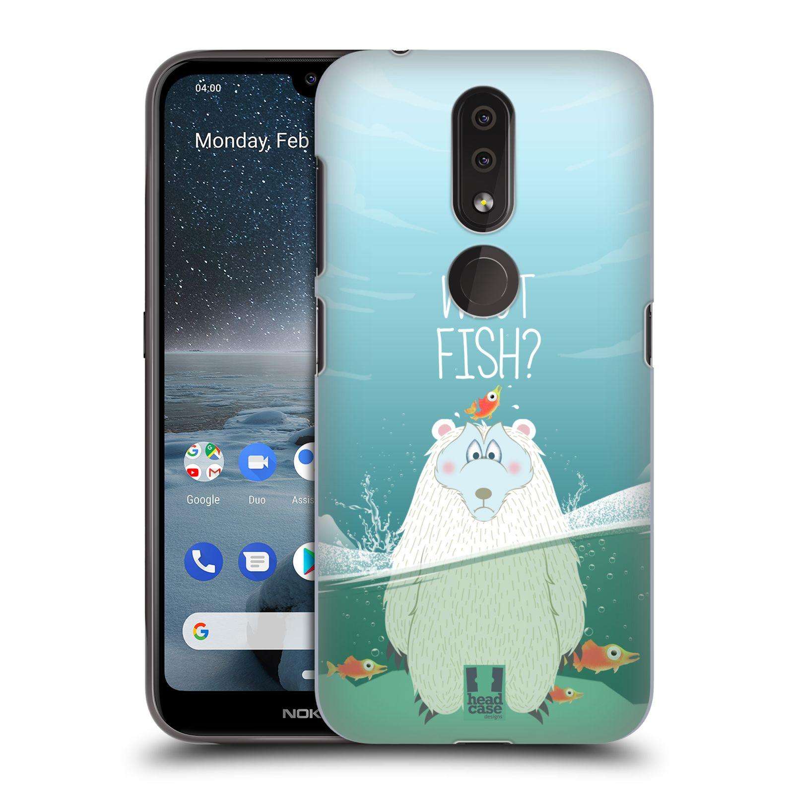 Plastové pouzdro na mobil Nokia 4.2 - Head Case - Medvěd Whut Fish?