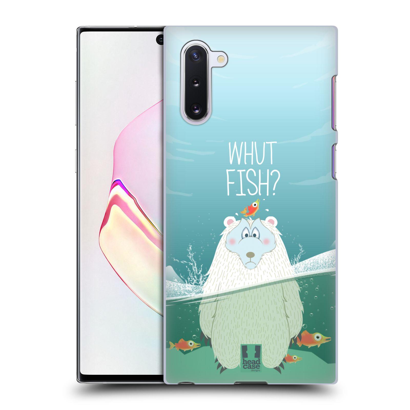 Plastové pouzdro na mobil Samsung Galaxy Note 10 - Head Case - Medvěd Whut Fish?