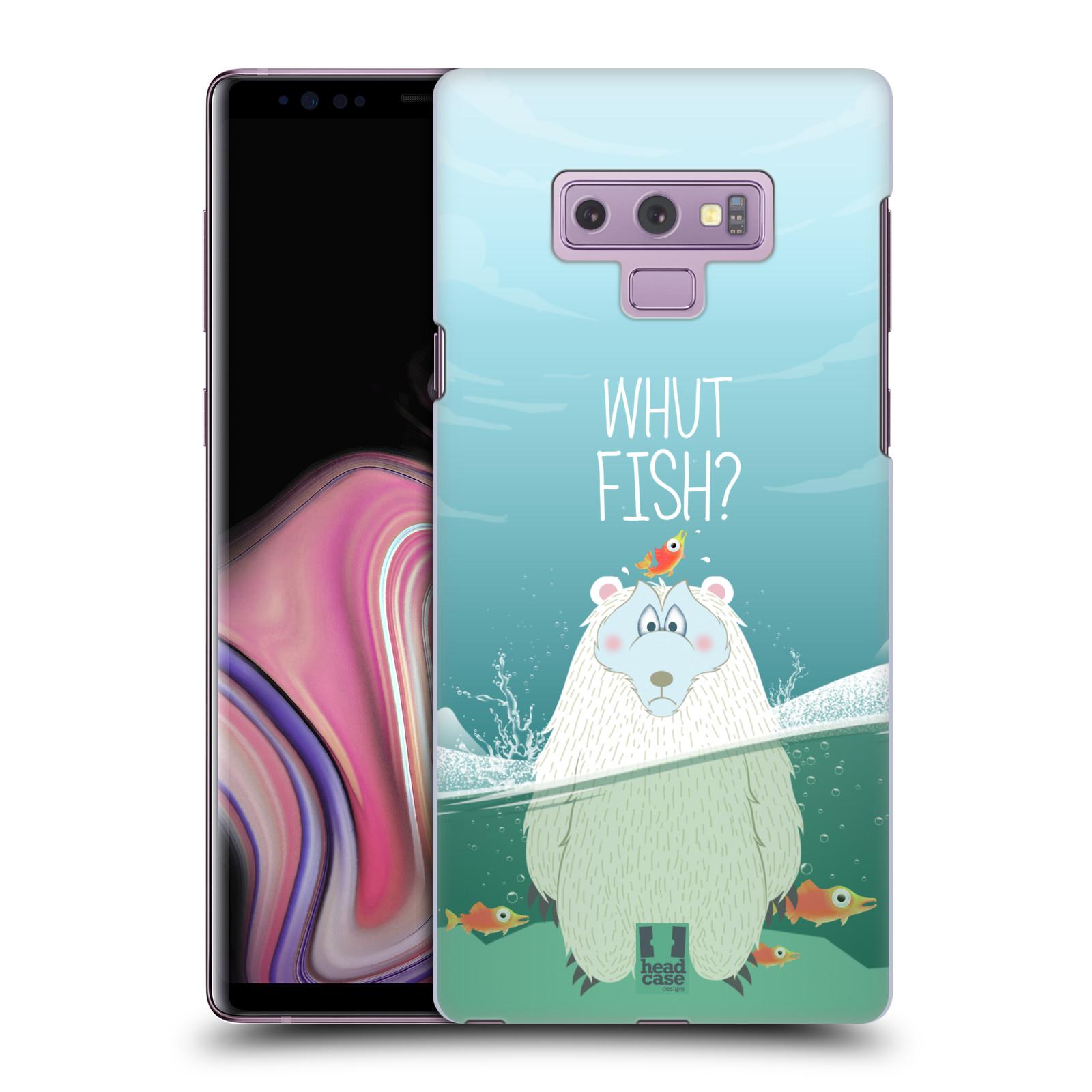Plastové pouzdro na mobil Samsung Galaxy Note 9 - Head Case - Medvěd Whut Fish?
