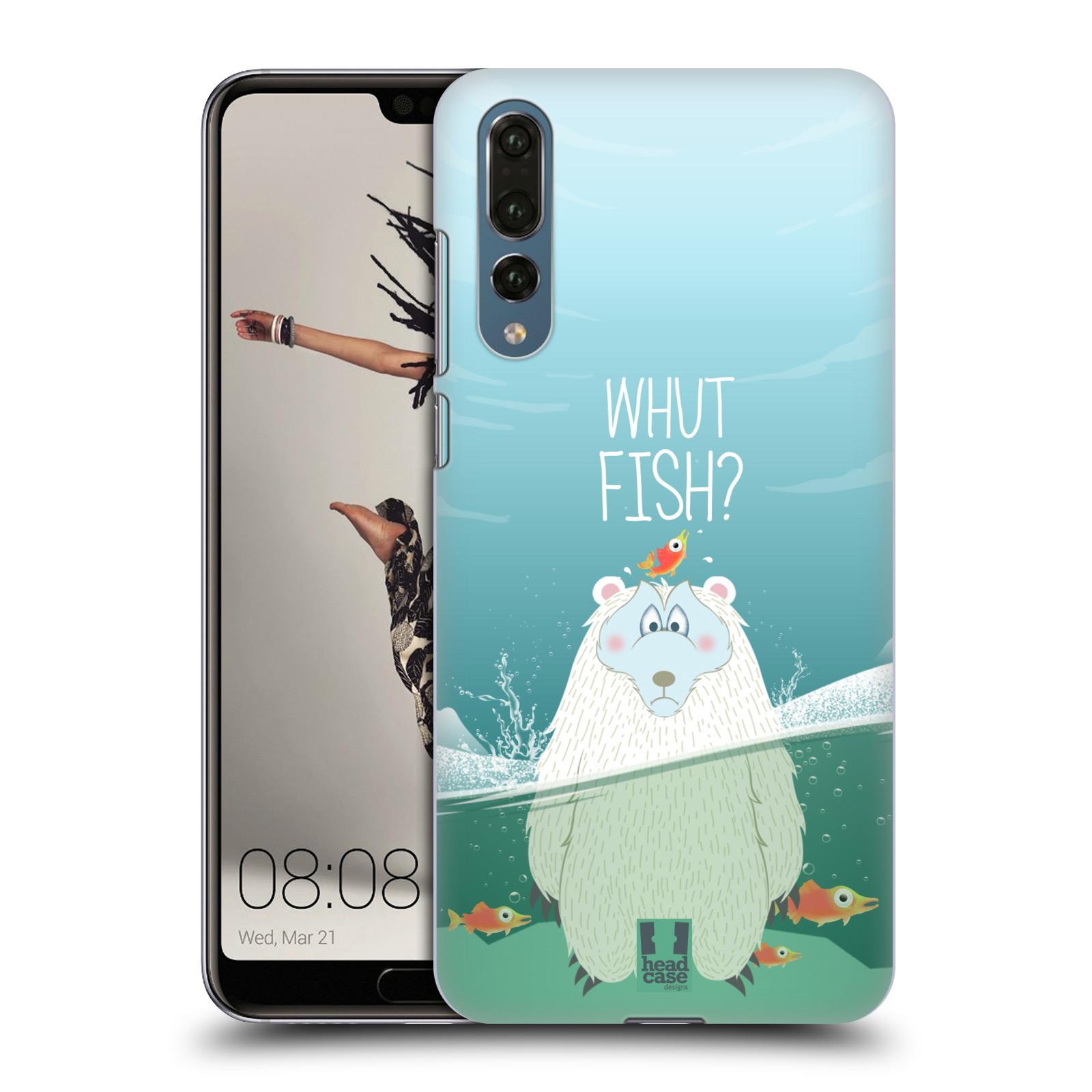 Plastové pouzdro na mobil Huawei P20 Pro - Head Case - Medvěd Whut Fish?