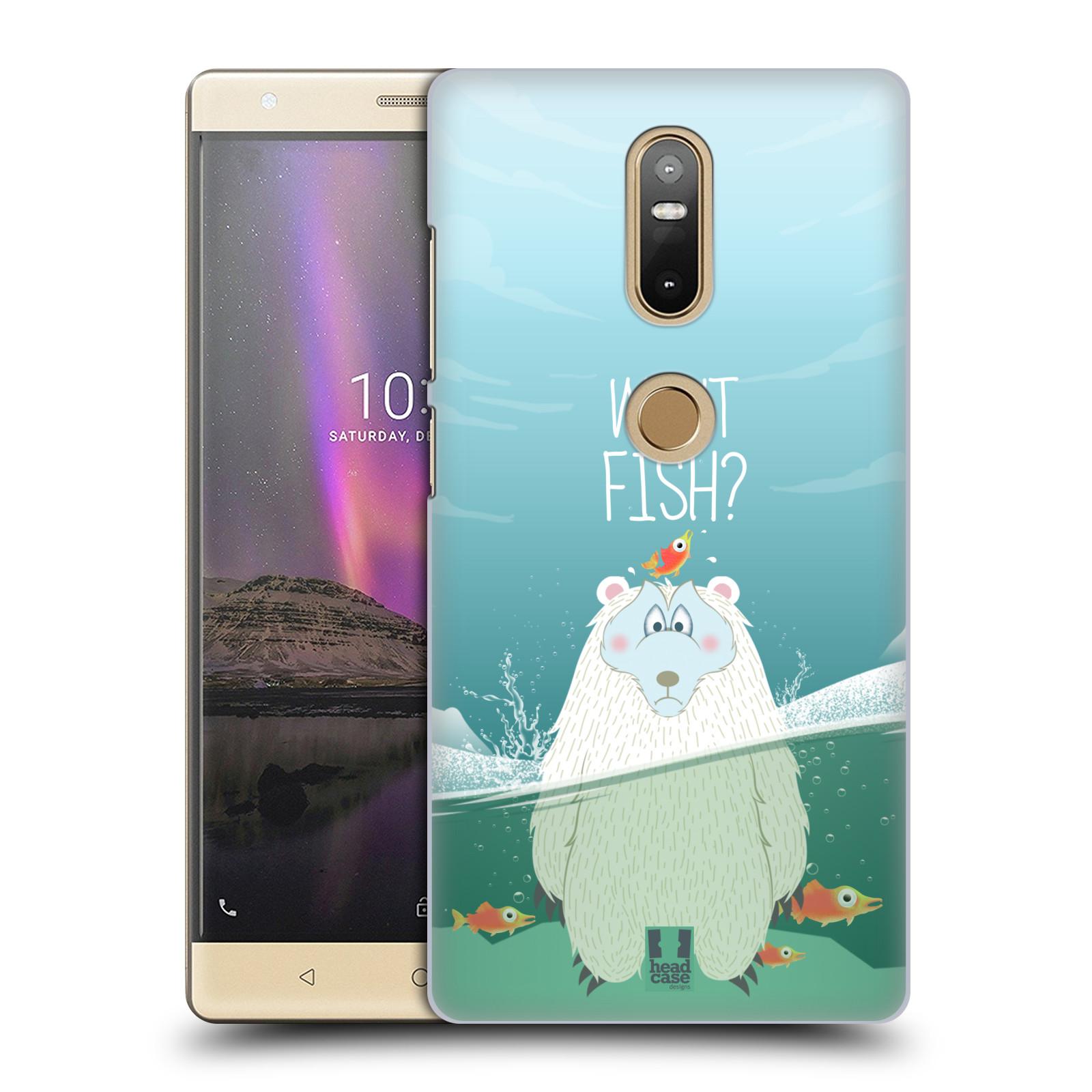 Plastové pouzdro na mobil Lenovo Phab 2 Plus - Head Case - Medvěd Whut Fish?