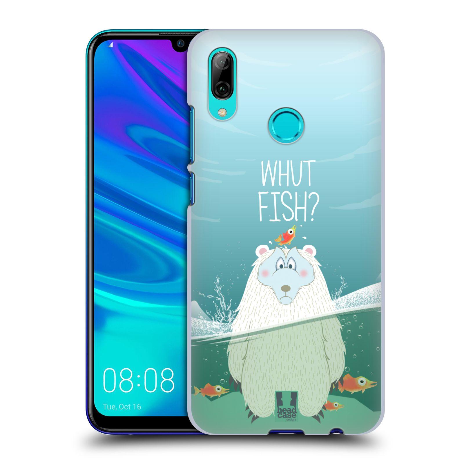 Plastové pouzdro na mobil Honor 10 Lite - Head Case - Medvěd Whut Fish?