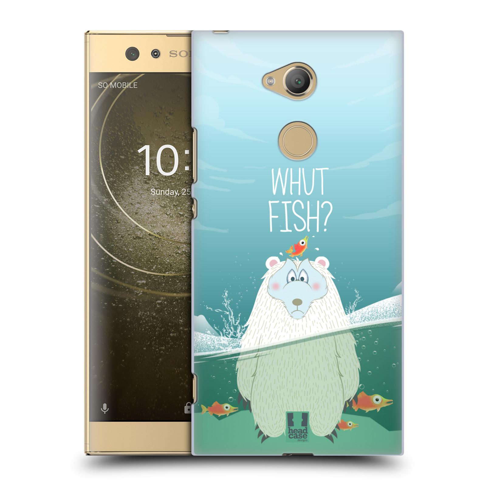 Plastové pouzdro na mobil Sony Xperia XA2 Ultra - Head Case - Medvěd Whut Fish?