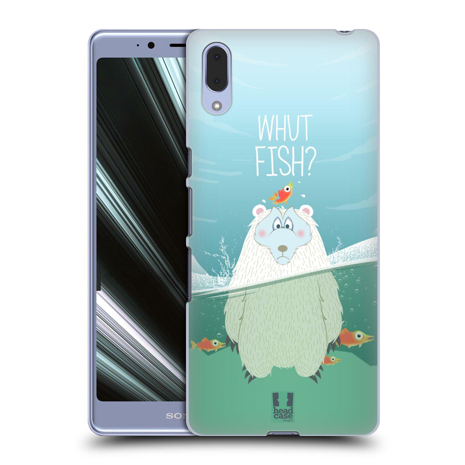 Plastové pouzdro na mobil Sony Xperia L3 - Head Case - Medvěd Whut Fish?