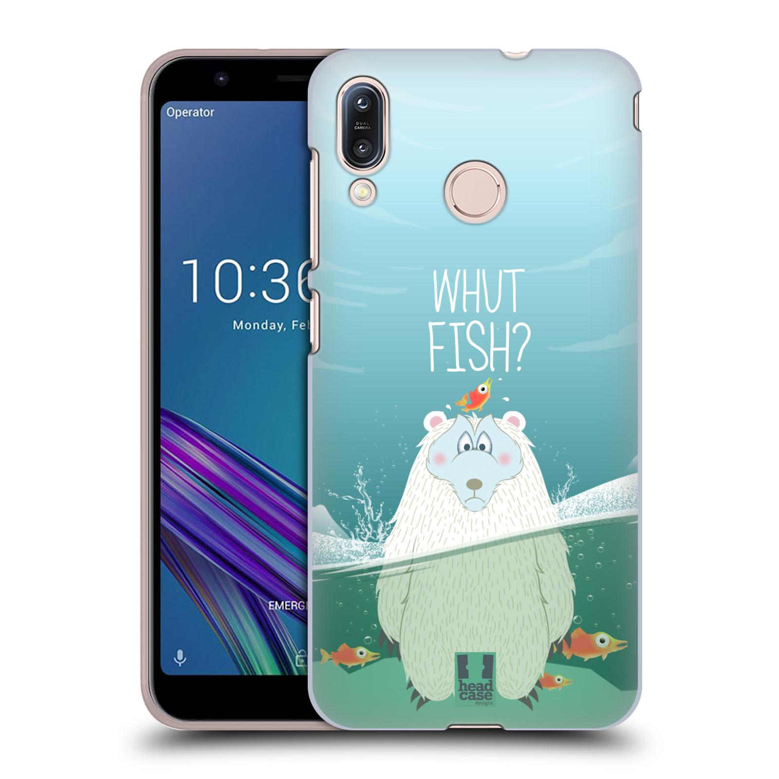 Plastové pouzdro na mobil Asus Zenfone Max M1 ZB555KL - Head Case - Medvěd Whut Fish?