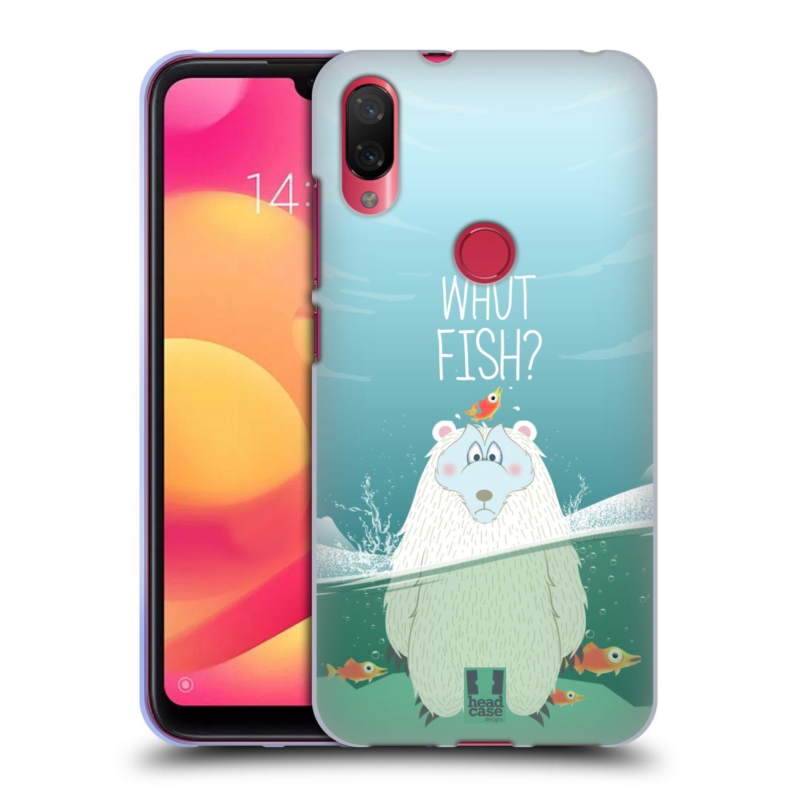 Silikonové pouzdro na mobil Xiaomi Mi Play - Head Case - Medvěd Whut Fish?