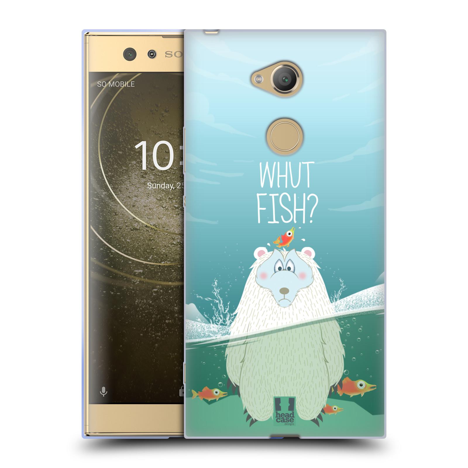Silikonové pouzdro na mobil Sony Xperia XA2 Ultra - Head Case - Medvěd Whut Fish?