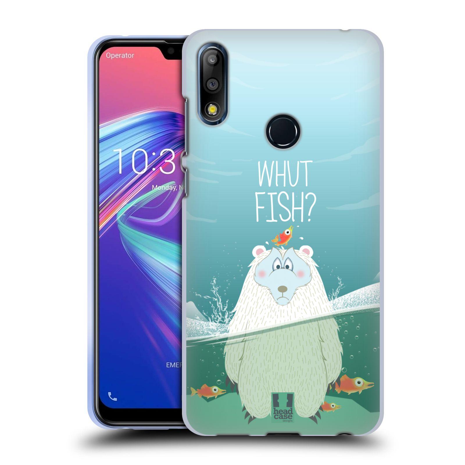 Silikonové pouzdro na mobil Asus Zenfone Max Pro M2 ZB631KL - Head Case - Medvěd Whut Fish?