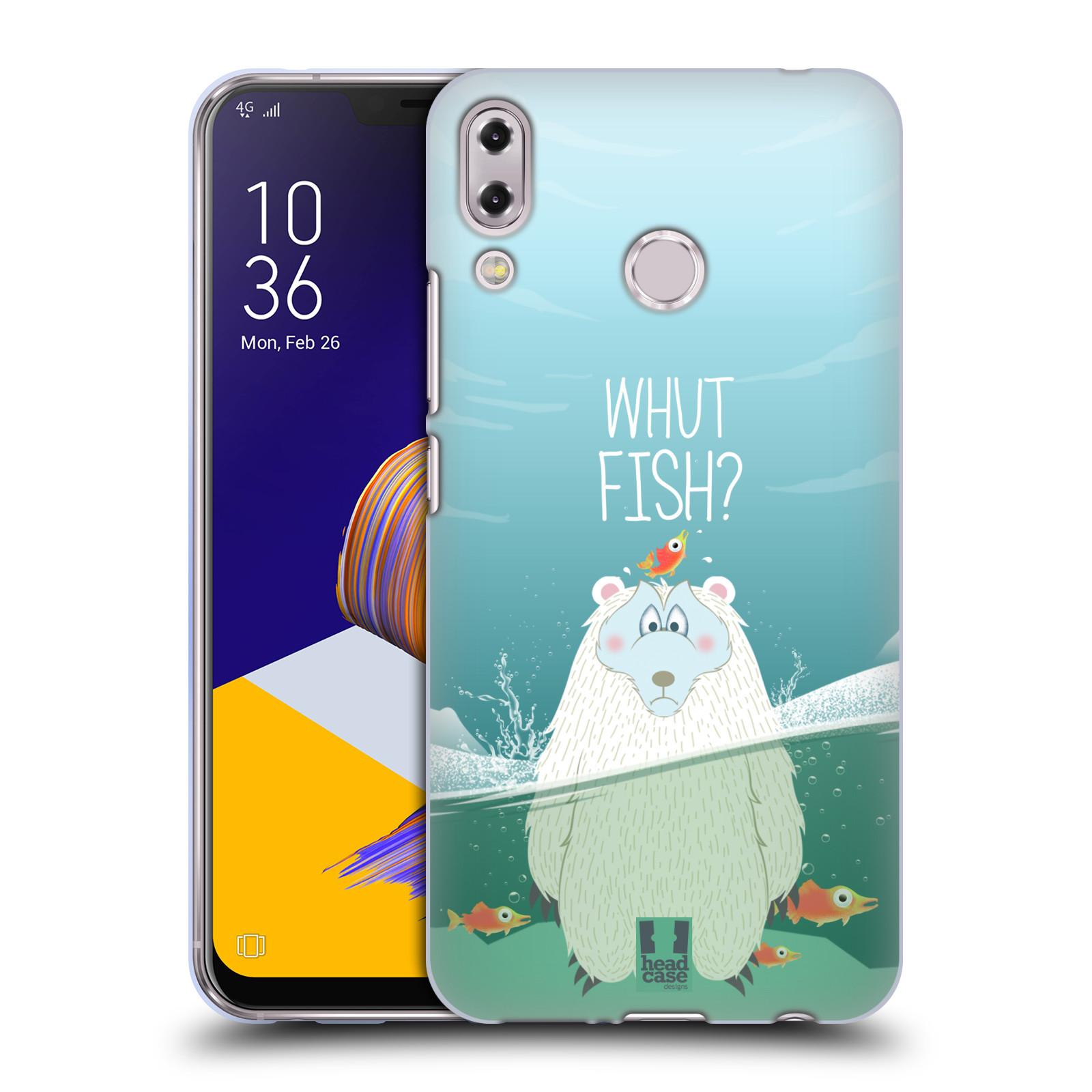Silikonové pouzdro na mobil Asus ZenFone 5 ZE620KL - Head Case - Medvěd Whut Fish?