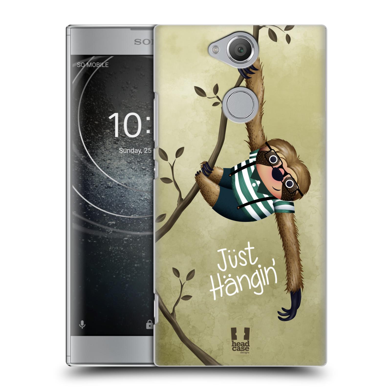 Plastové pouzdro na mobil Sony Xperia XA2 - Head Case - Lenochod Just Hangin
