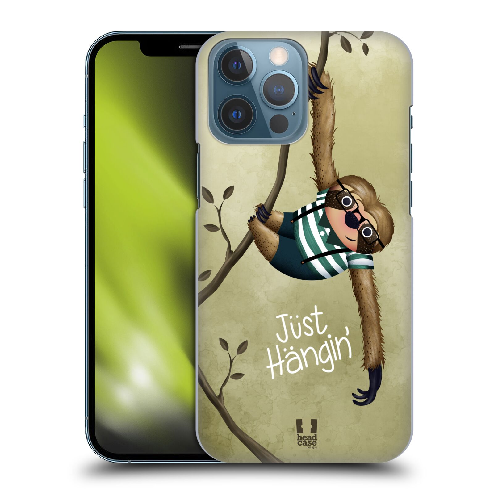 Plastové pouzdro na mobil Apple iPhone 13 Pro Max - Head Case - Lenochod Just Hangin