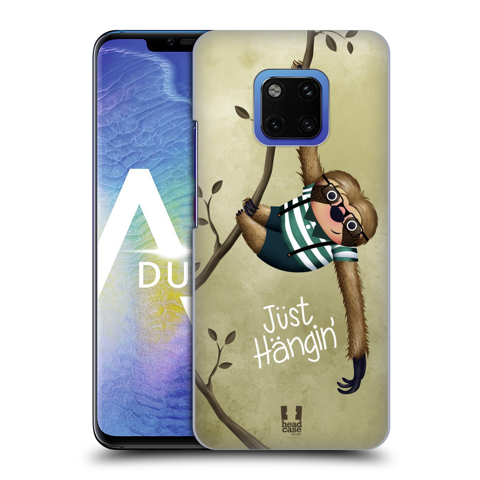 Plastové pouzdro na mobil Huawei Mate 20 Pro - Head Case - Lenochod Just Hangin