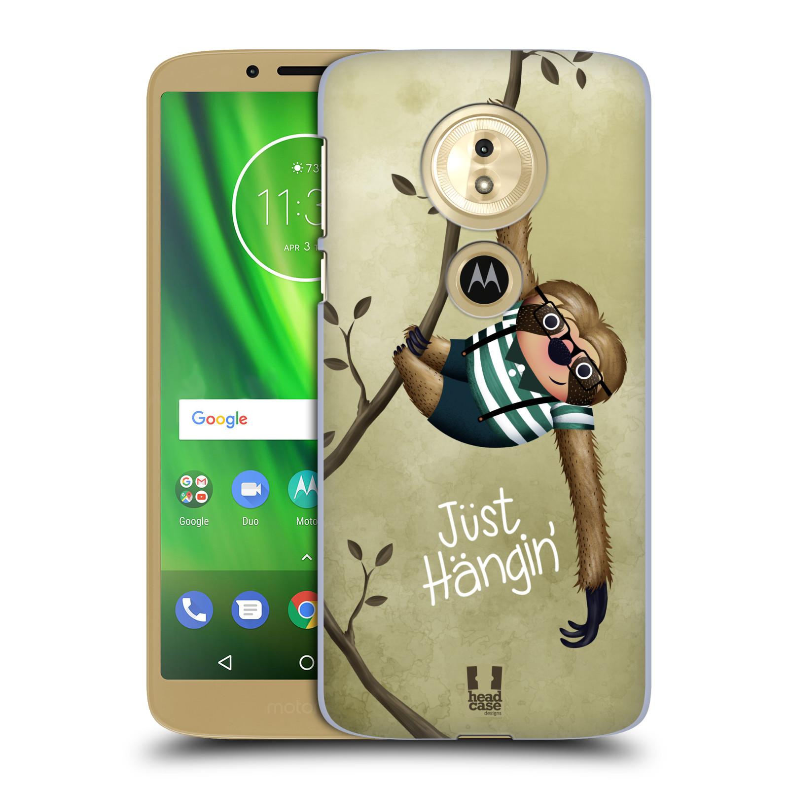 Plastové pouzdro na mobil Motorola Moto G6 Play - Head Case - Lenochod Just Hangin