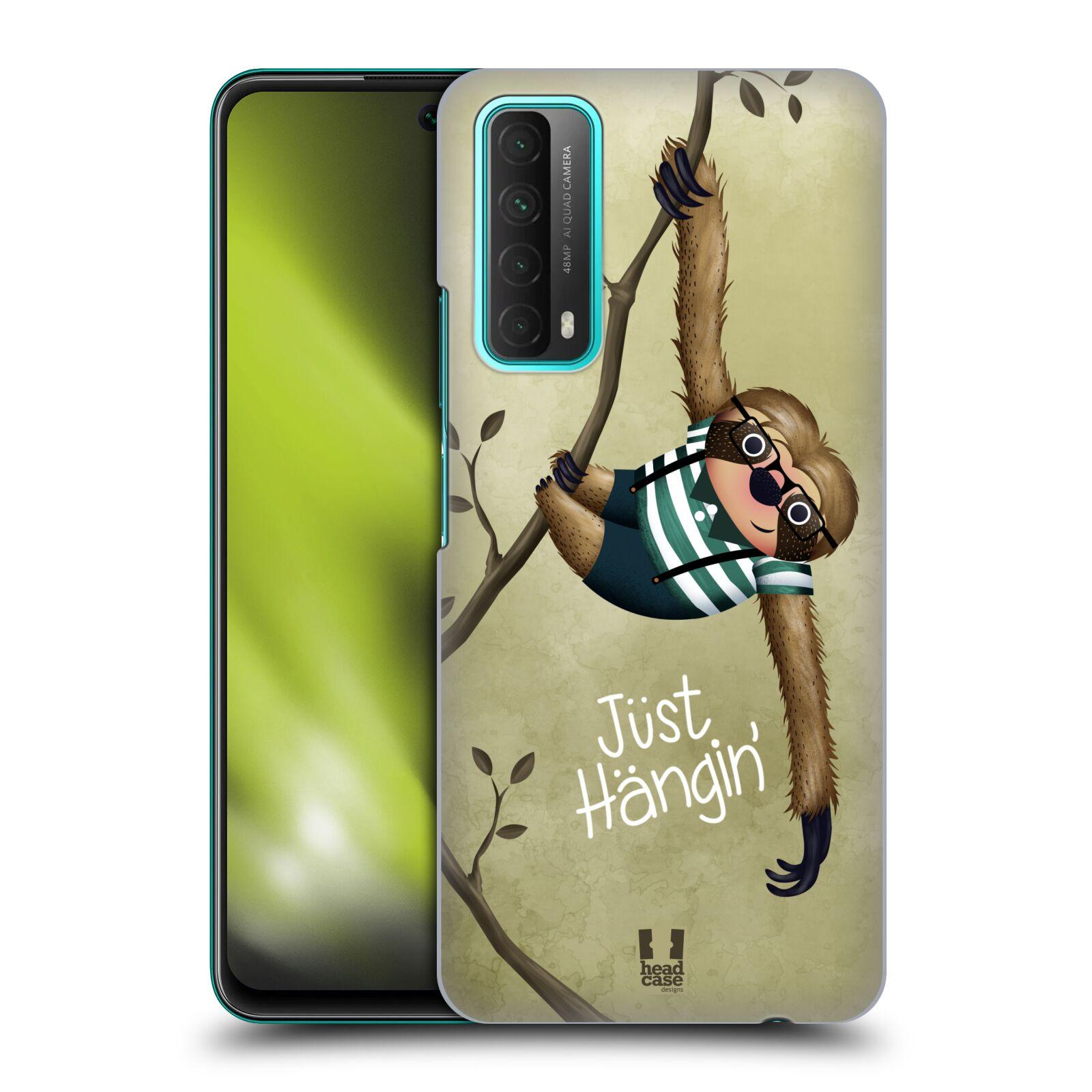 Plastové pouzdro na mobil Huawei P Smart (2021) - Head Case - Lenochod Just Hangin