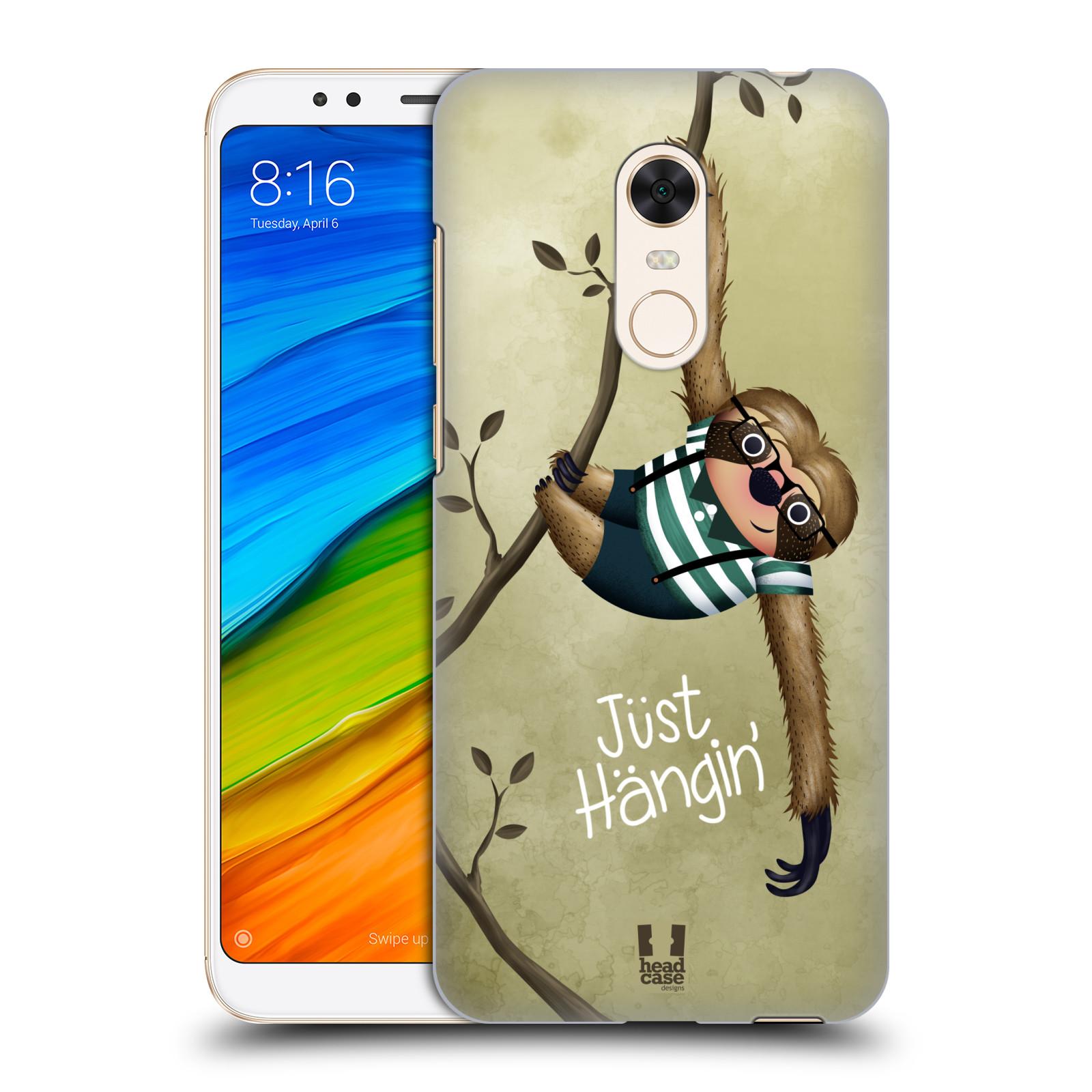 Plastové pouzdro na mobil Xiaomi Redmi 5 Plus - Head Case - Lenochod Just Hangin