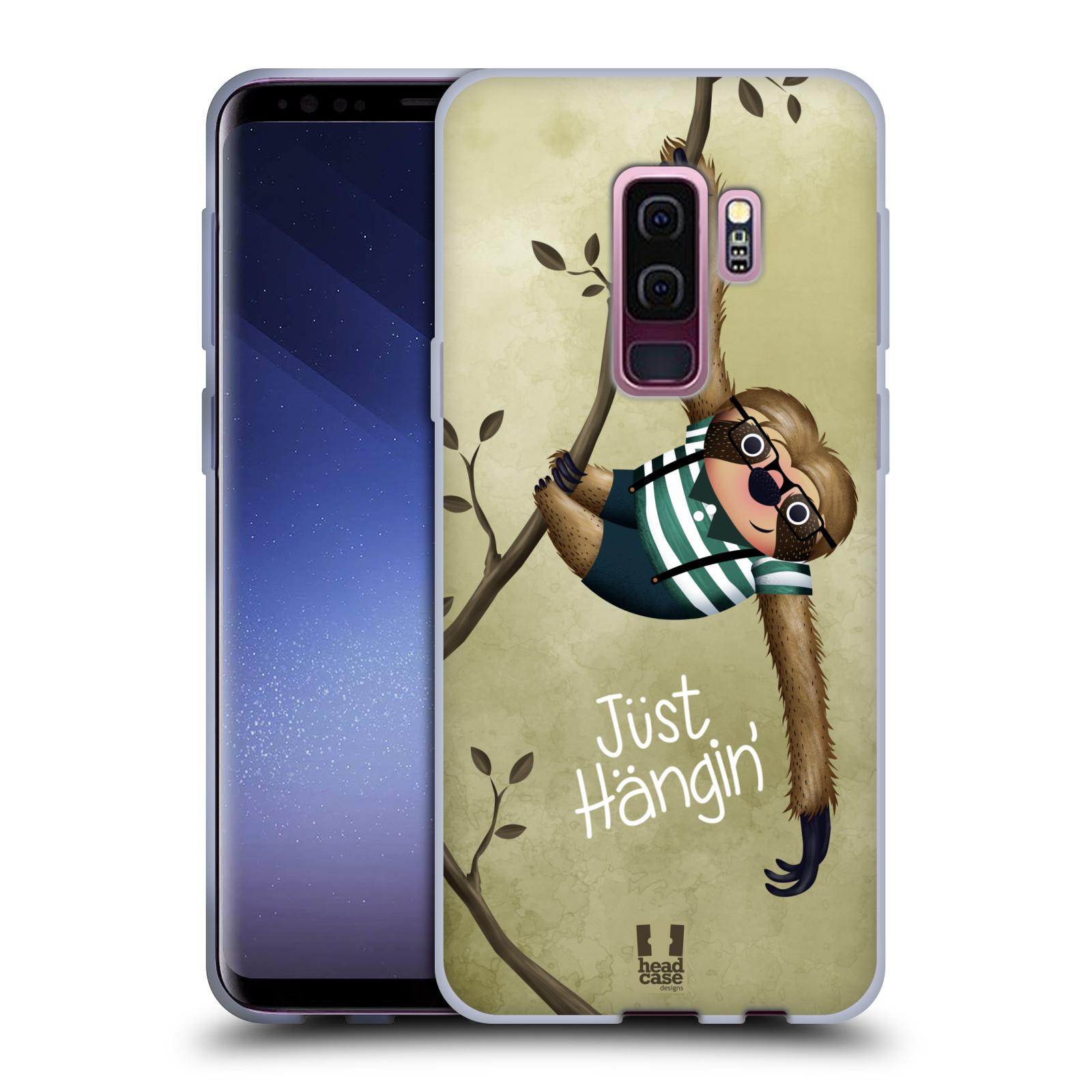 Silikonové pouzdro na mobil Samsung Galaxy S9 Plus - Head Case - Lenochod Just Hangin