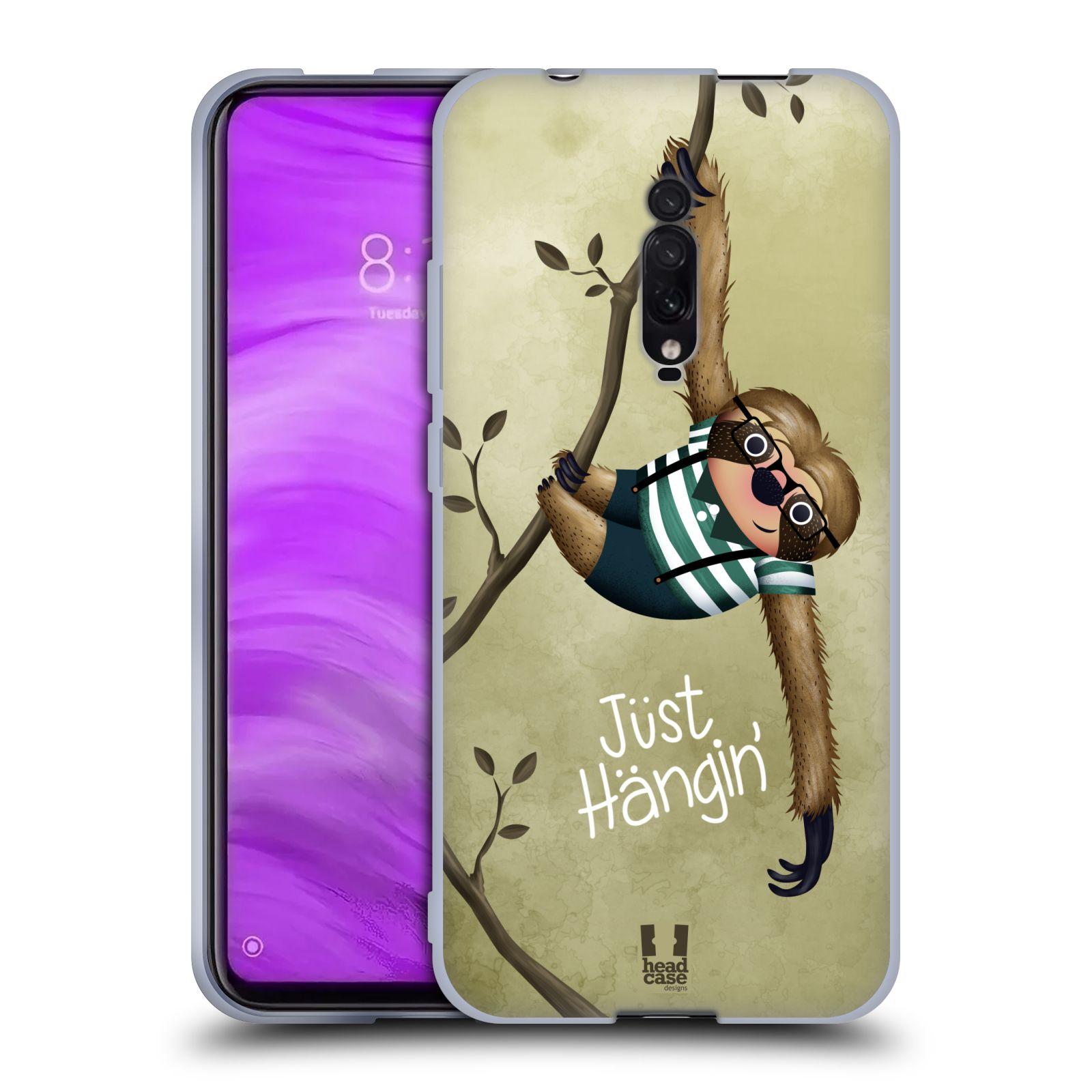 Silikonové pouzdro na mobil Xiaomi Mi 9T - Head Case - Lenochod Just Hangin