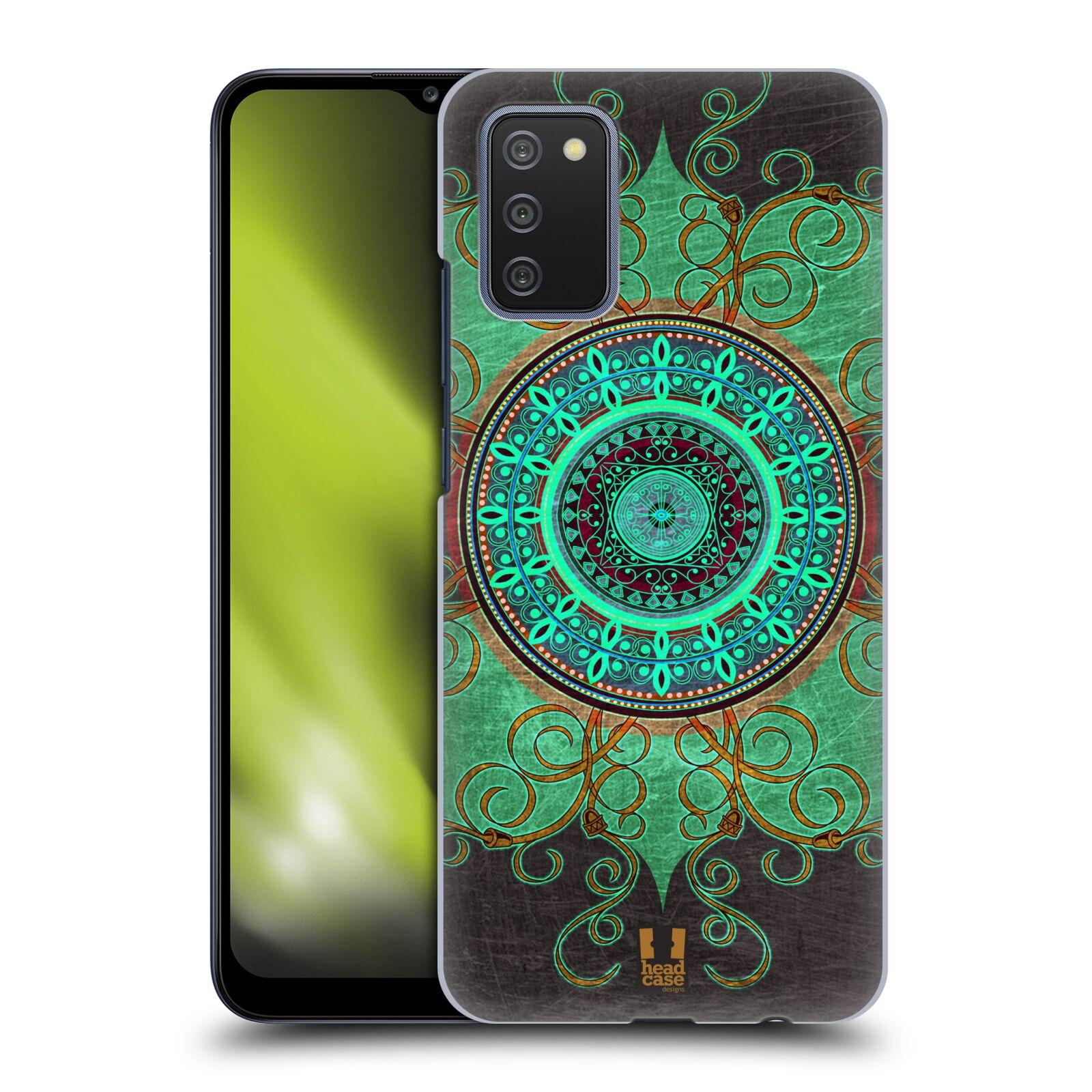 Plastové pouzdro na mobil Samsung Galaxy A02s - Head Case - ARAB MANDALA
