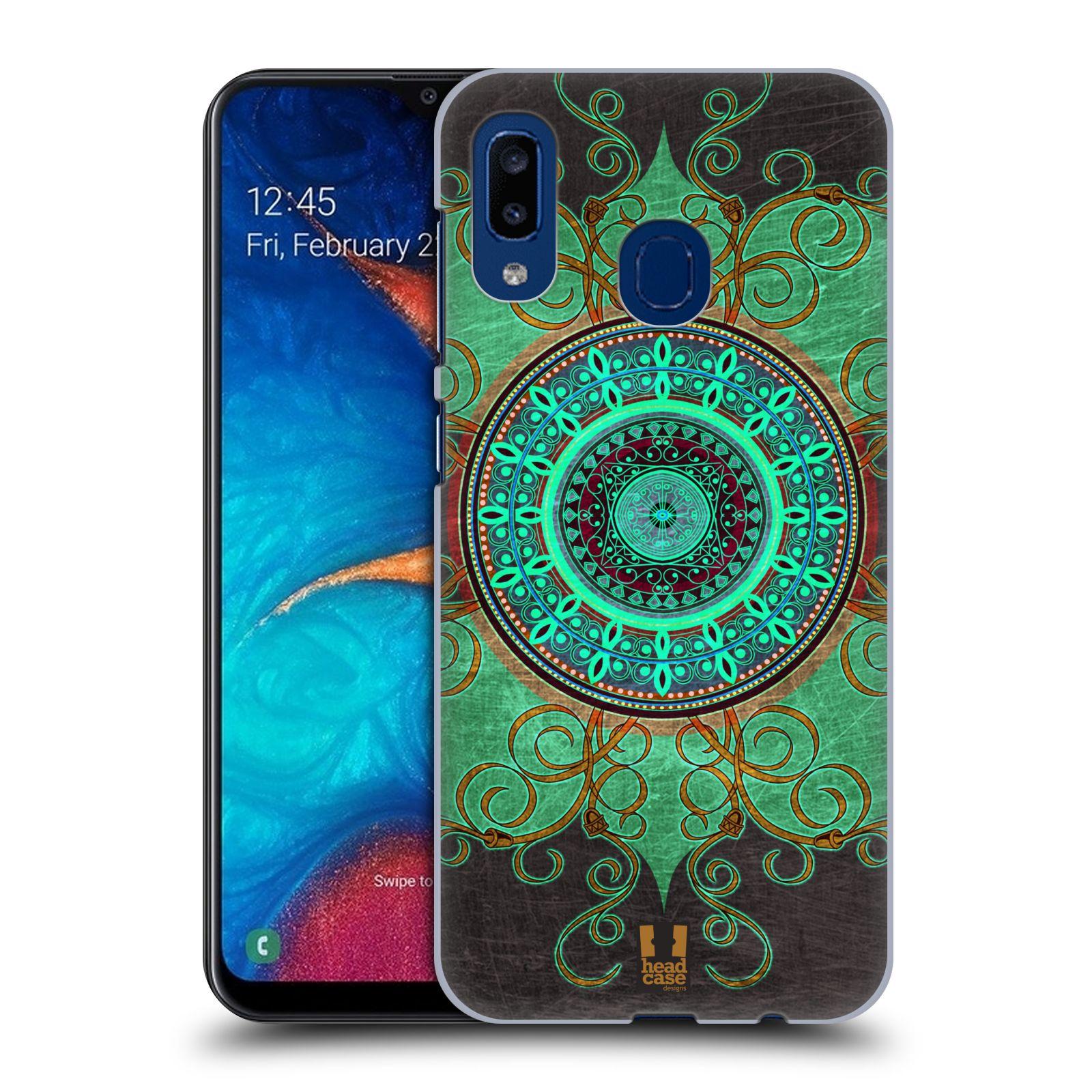 Plastové pouzdro na mobil Samsung Galaxy A20 - Head Case - ARAB MANDALA