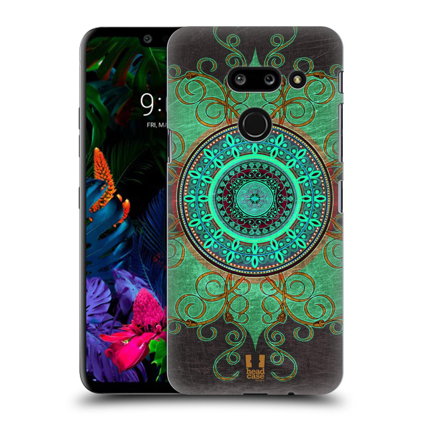 Plastové pouzdro na mobil LG G8 ThinQ - Head Case - ARAB MANDALA