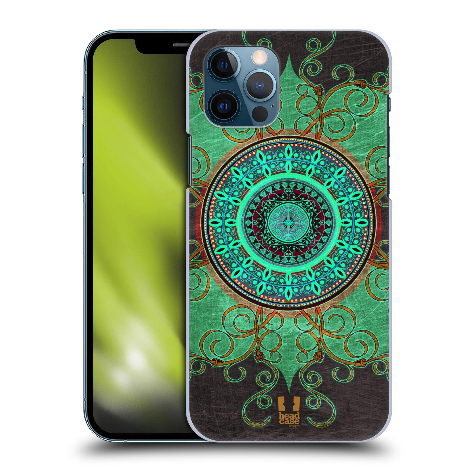 Plastové pouzdro na mobil Apple iPhone 12 / 12 Pro - Head Case - ARAB MANDALA
