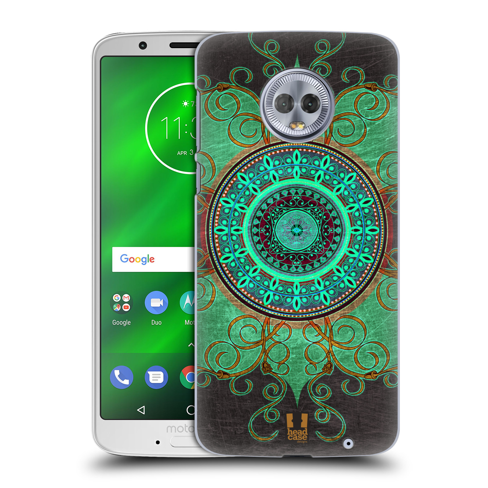 Plastové pouzdro na mobil Motorola Moto G6 Plus - Head Case - ARAB MANDALA