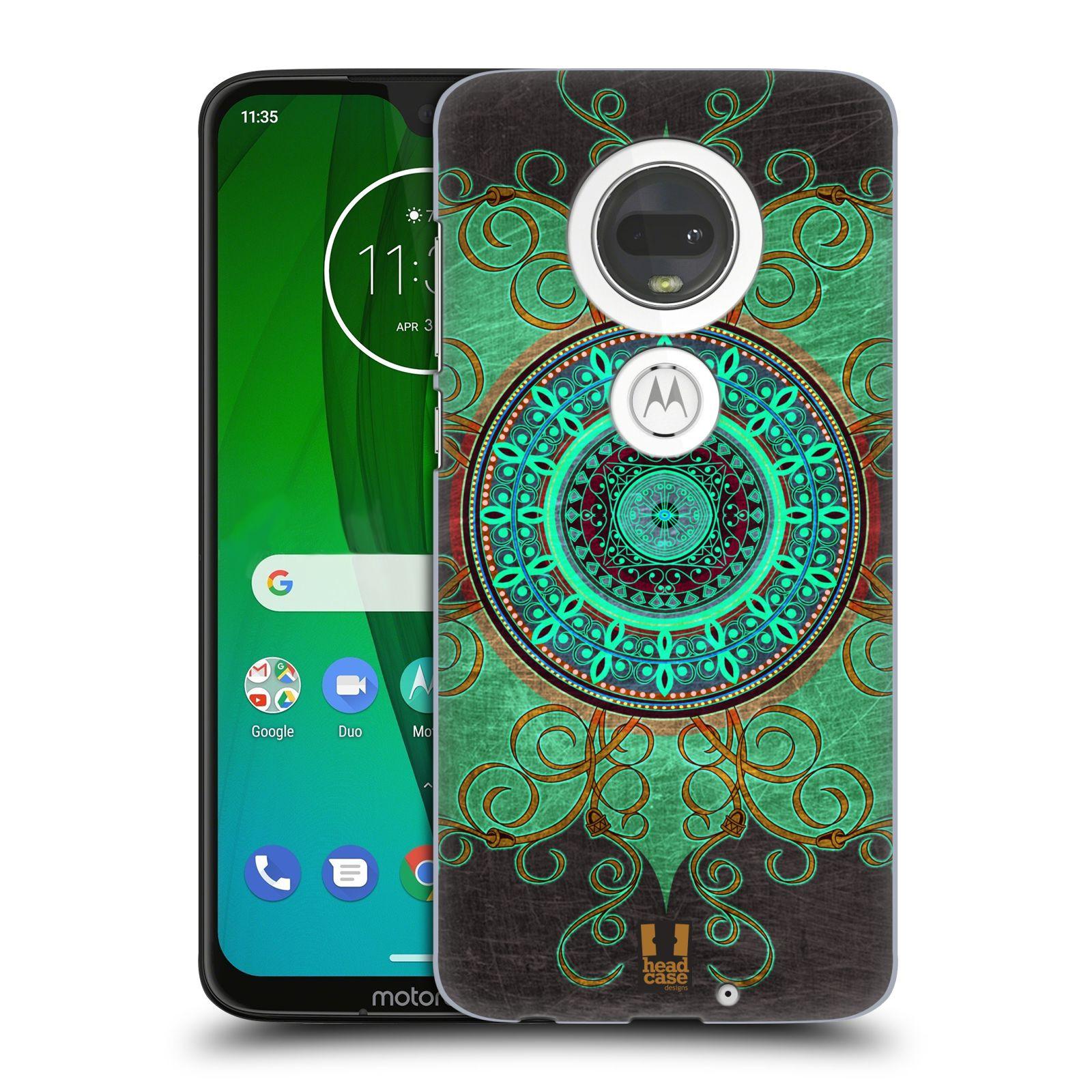 Plastové pouzdro na mobil Motorola Moto G7 - Head Case - ARAB MANDALA