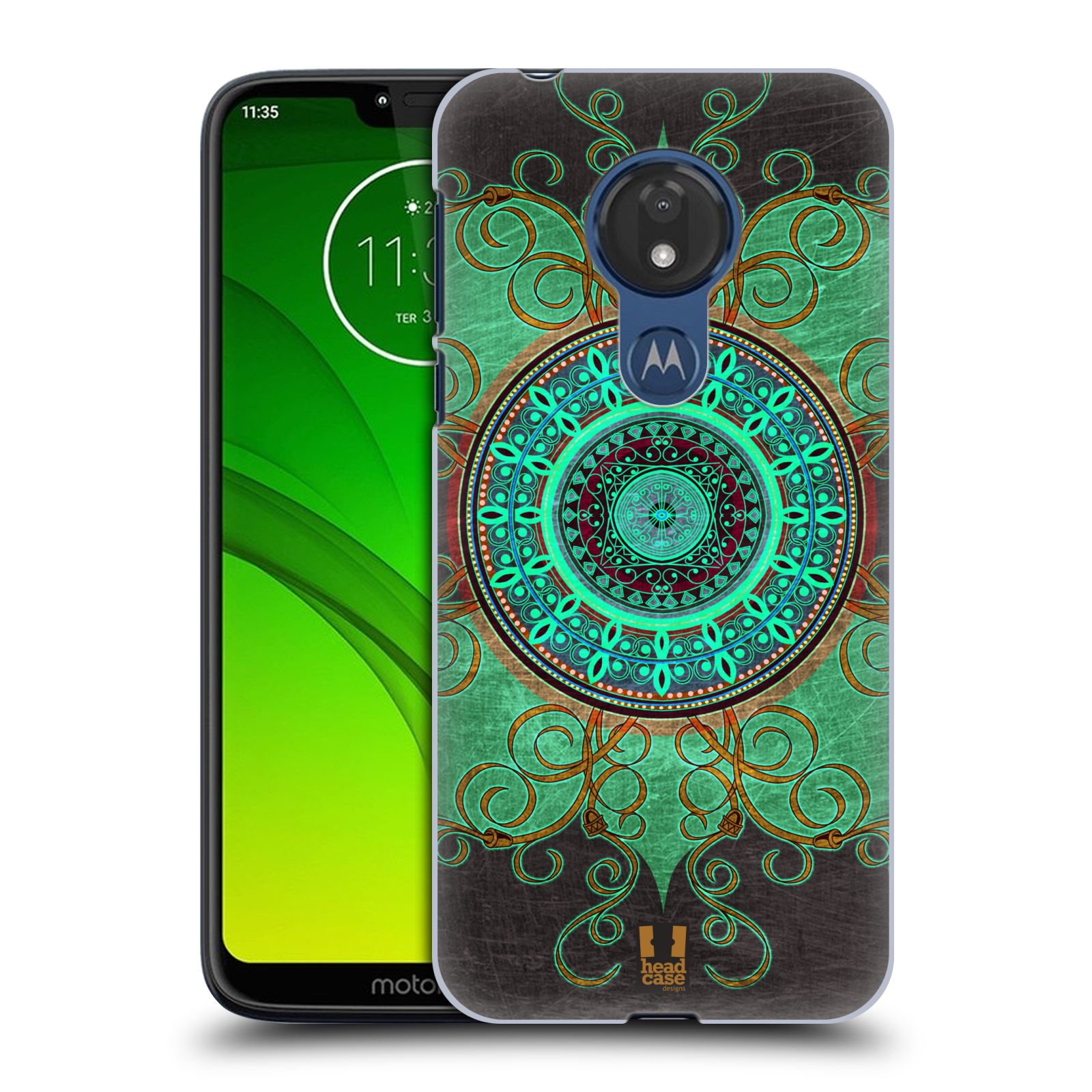 Plastové pouzdro na mobil Motorola Moto G7 Power - Head Case - ARAB MANDALA