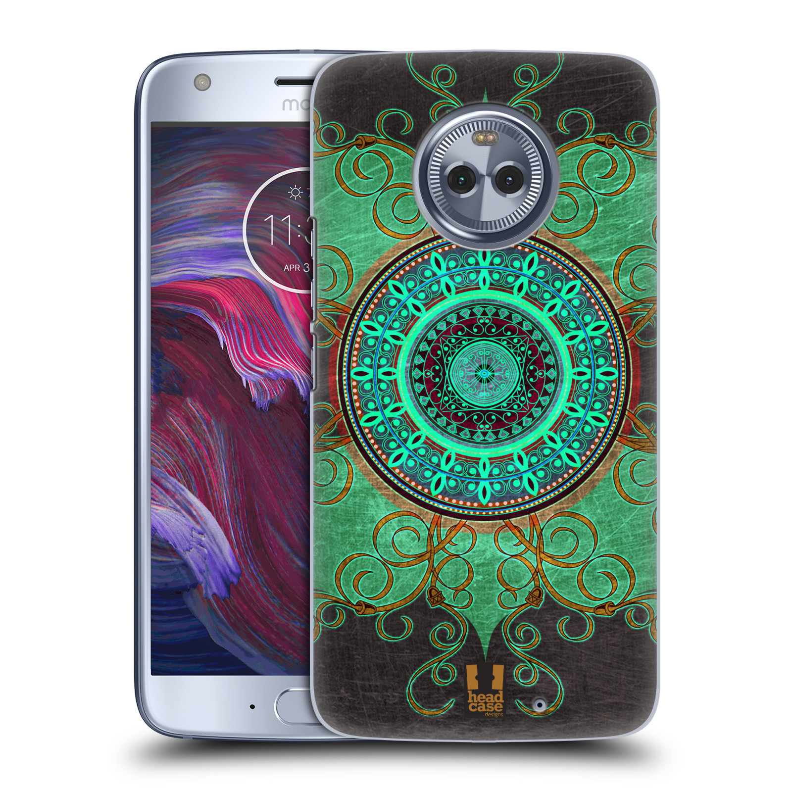 Plastové pouzdro na mobil Lenovo Moto X4 - Head Case - ARAB MANDALA