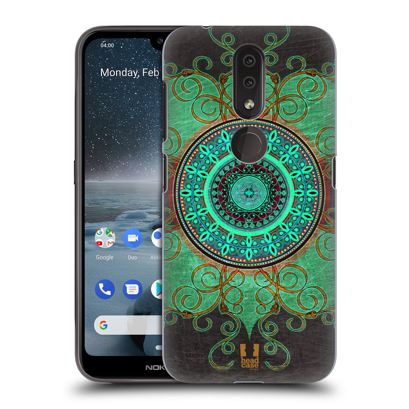 Plastové pouzdro na mobil Nokia 4.2 - Head Case - ARAB MANDALA