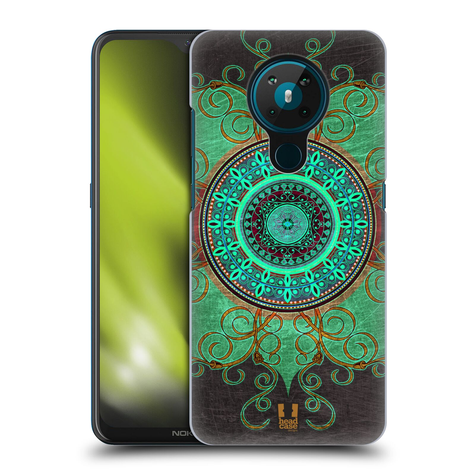 Plastové pouzdro na mobil Nokia 5.3 - Head Case - ARAB MANDALA