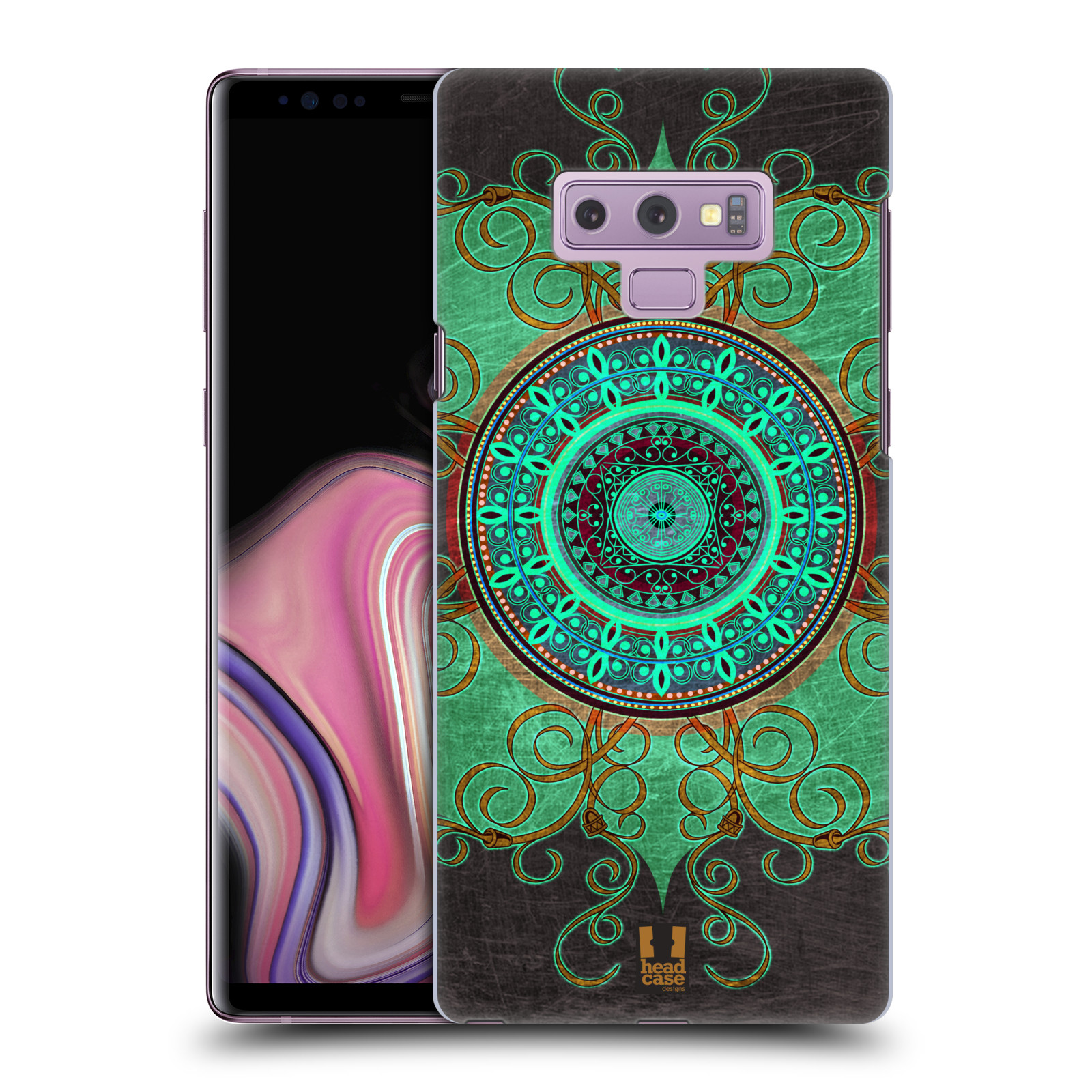 Plastové pouzdro na mobil Samsung Galaxy Note 9 - Head Case - ARAB MANDALA