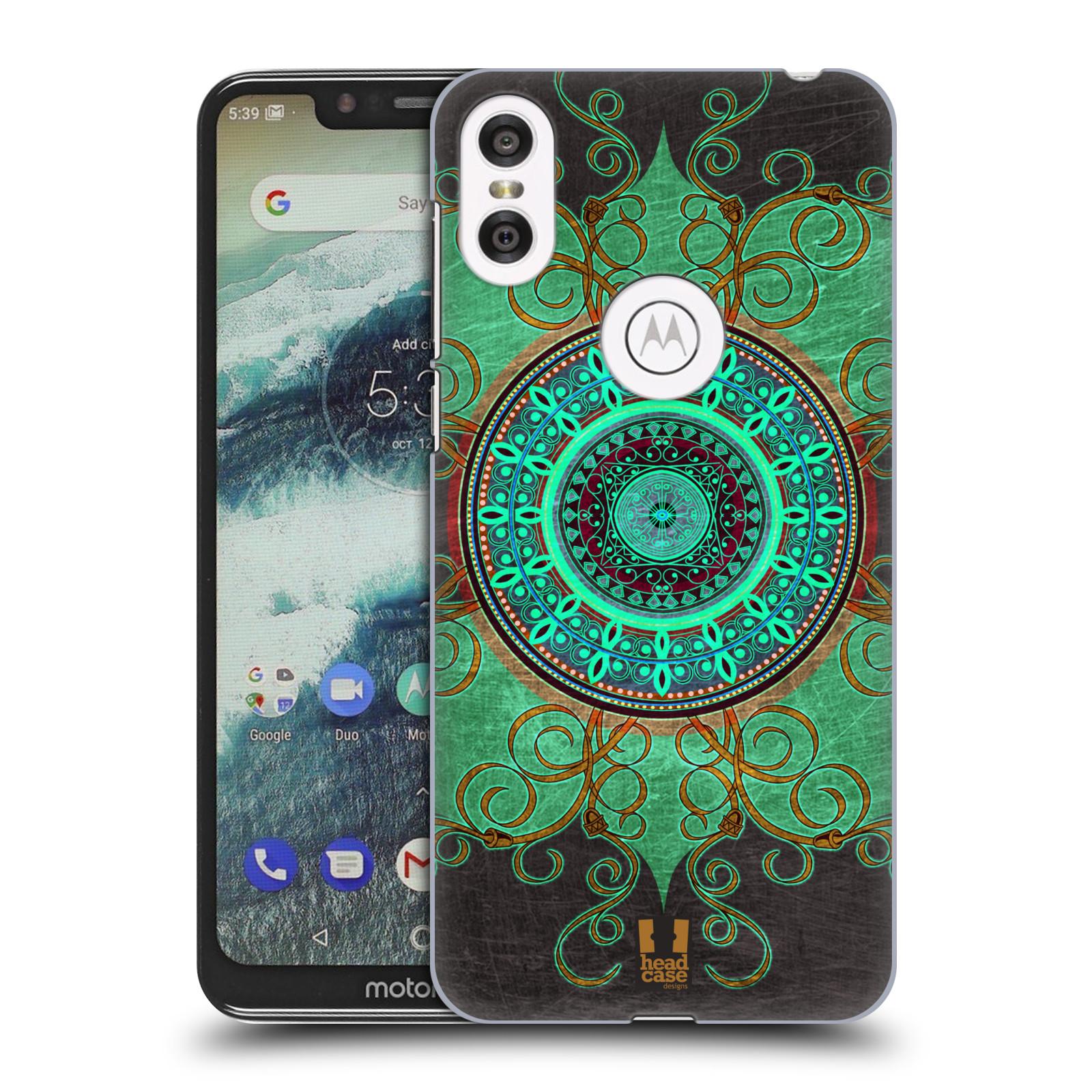 Plastové pouzdro na mobil Motorola One - Head Case - ARAB MANDALA