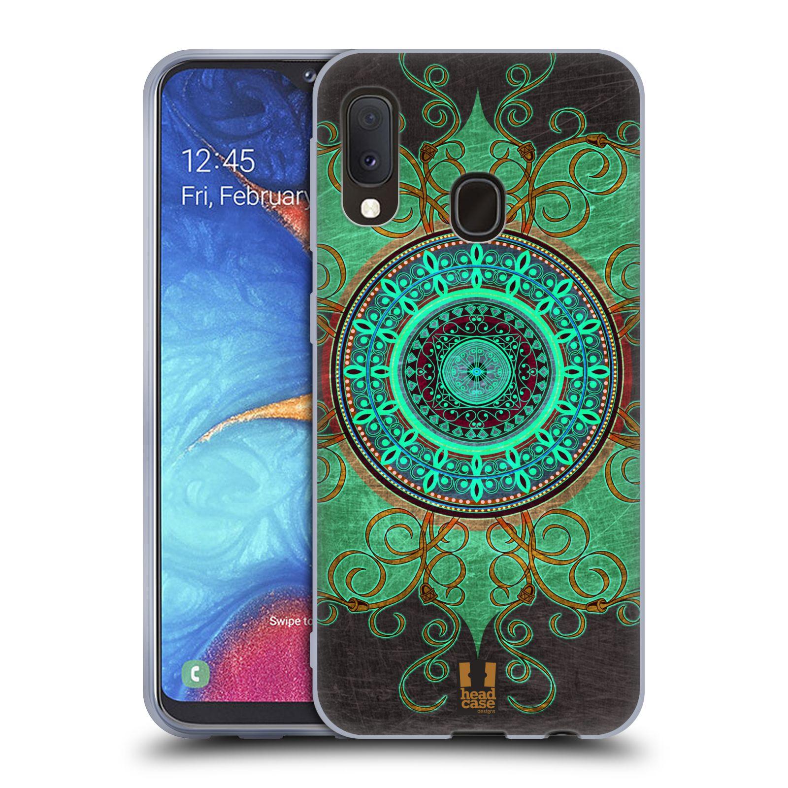 Silikonové pouzdro na mobil Samsung Galaxy A20e - Head Case - ARAB MANDALA