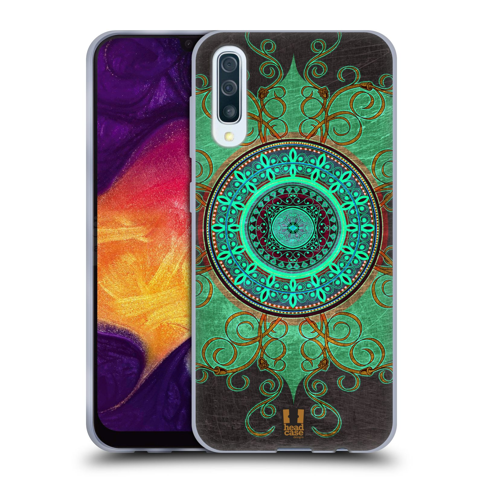 Silikonové pouzdro na mobil Samsung Galaxy A50 / A30s - Head Case - ARAB MANDALA