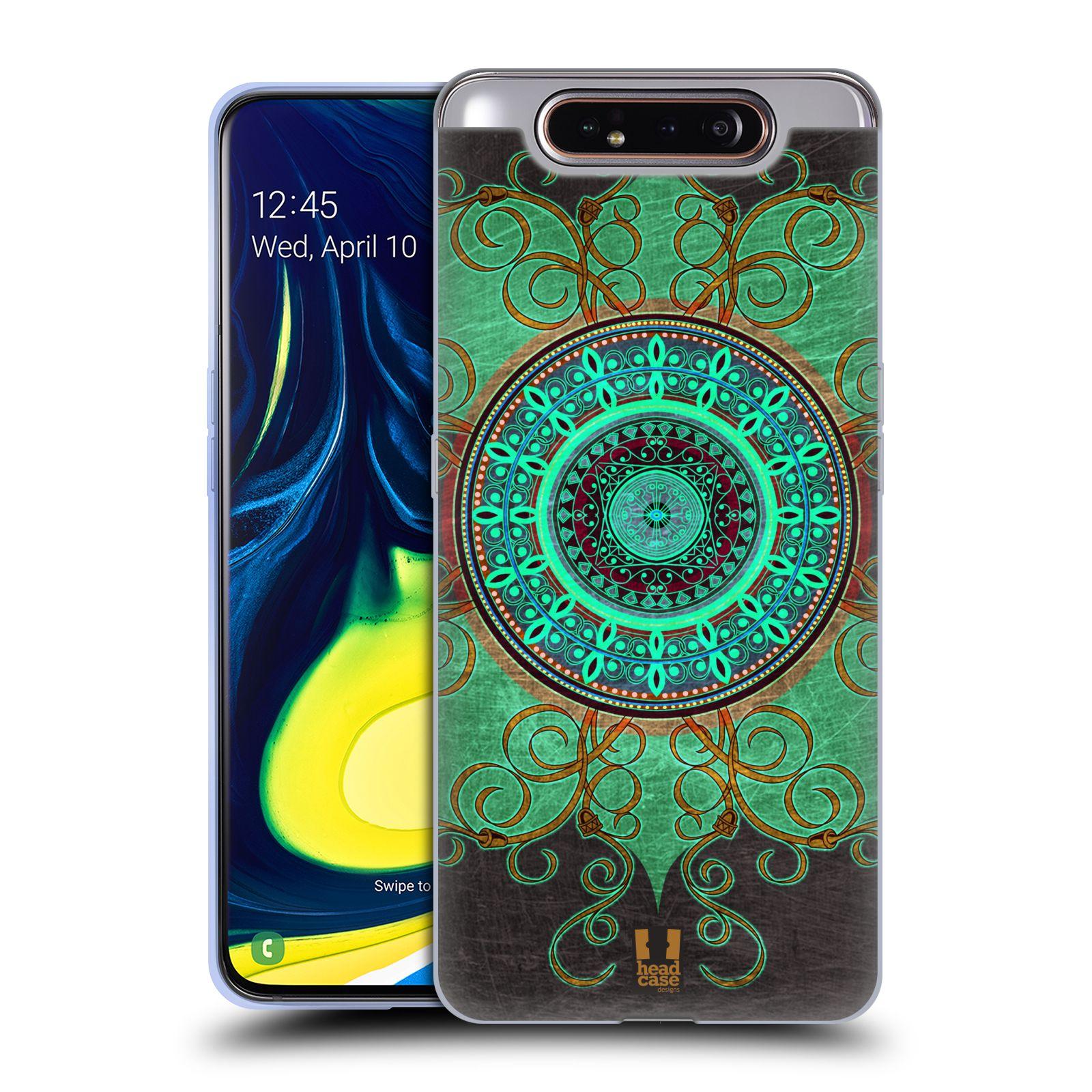 Silikonové pouzdro na mobil Samsung Galaxy A80 - Head Case - ARAB MANDALA