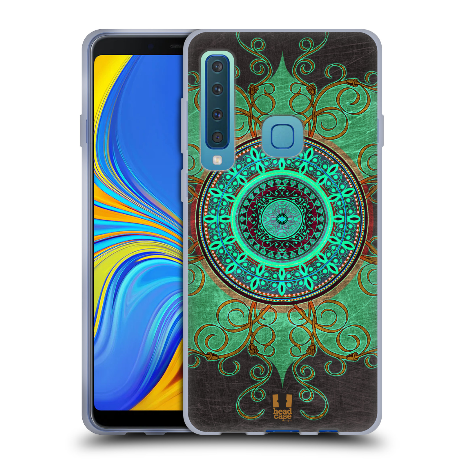 Silikonové pouzdro na mobil Samsung Galaxy A9 (2018) - Head Case - ARAB MANDALA
