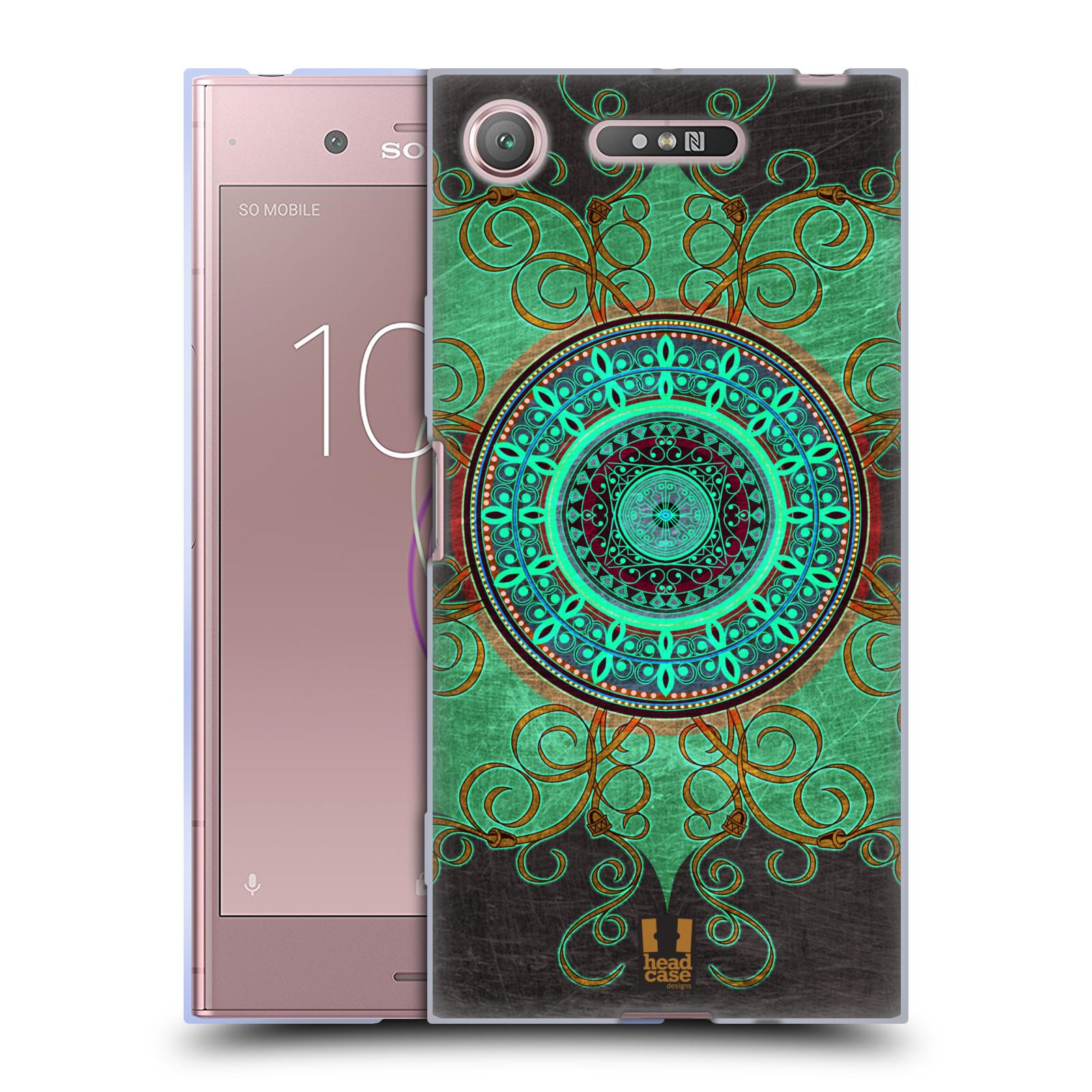Silikonové pouzdro na mobil Sony Xperia XZ1 - Head Case - ARAB MANDALA