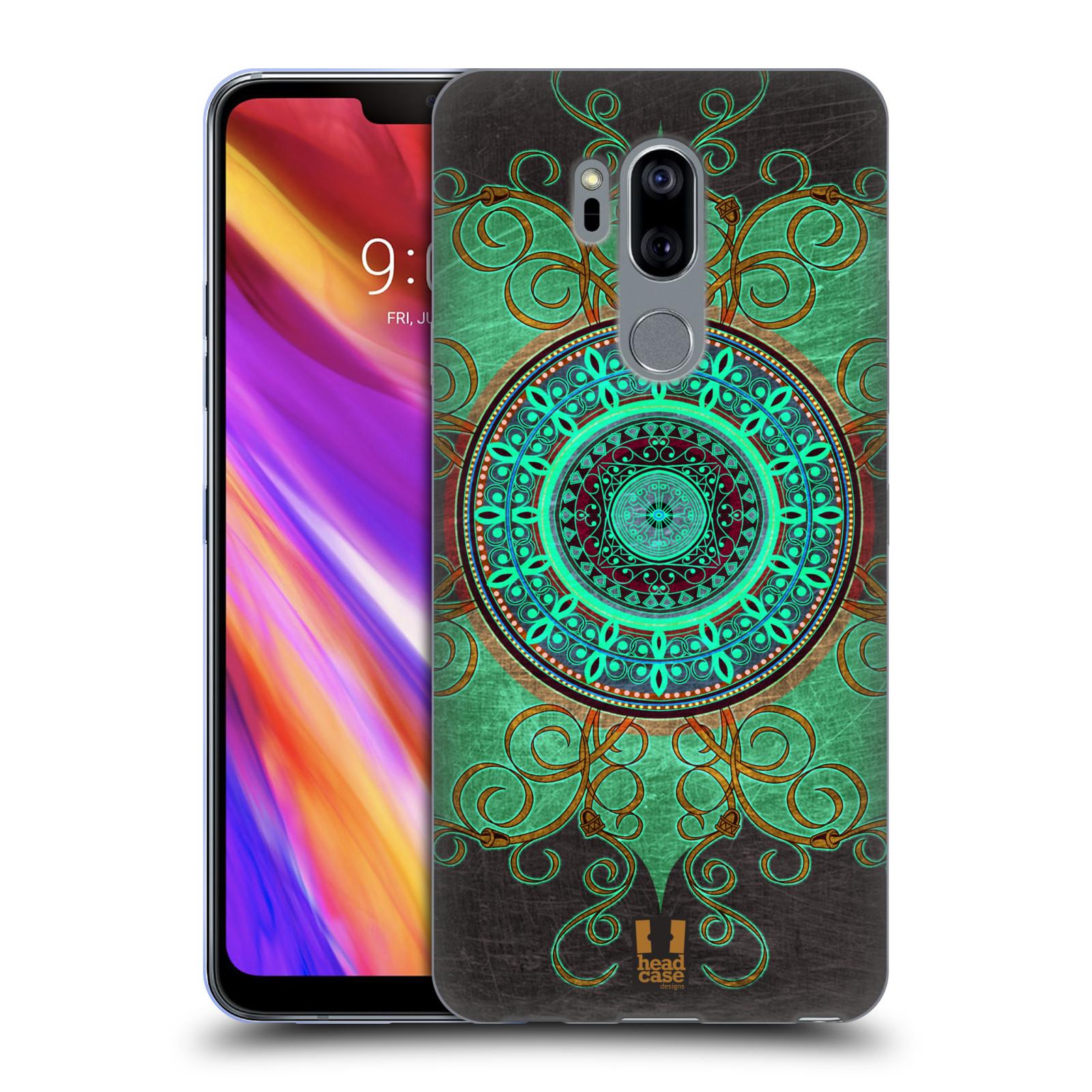 Silikonové pouzdro na mobil LG G7 ThinQ - Head Case - ARAB MANDALA