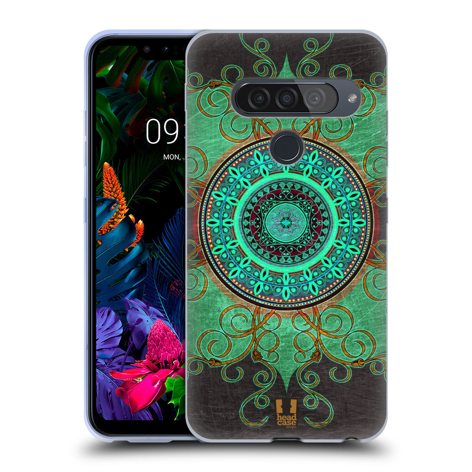 Silikonové pouzdro na mobil LG G8s ThinQ - Head Case - ARAB MANDALA