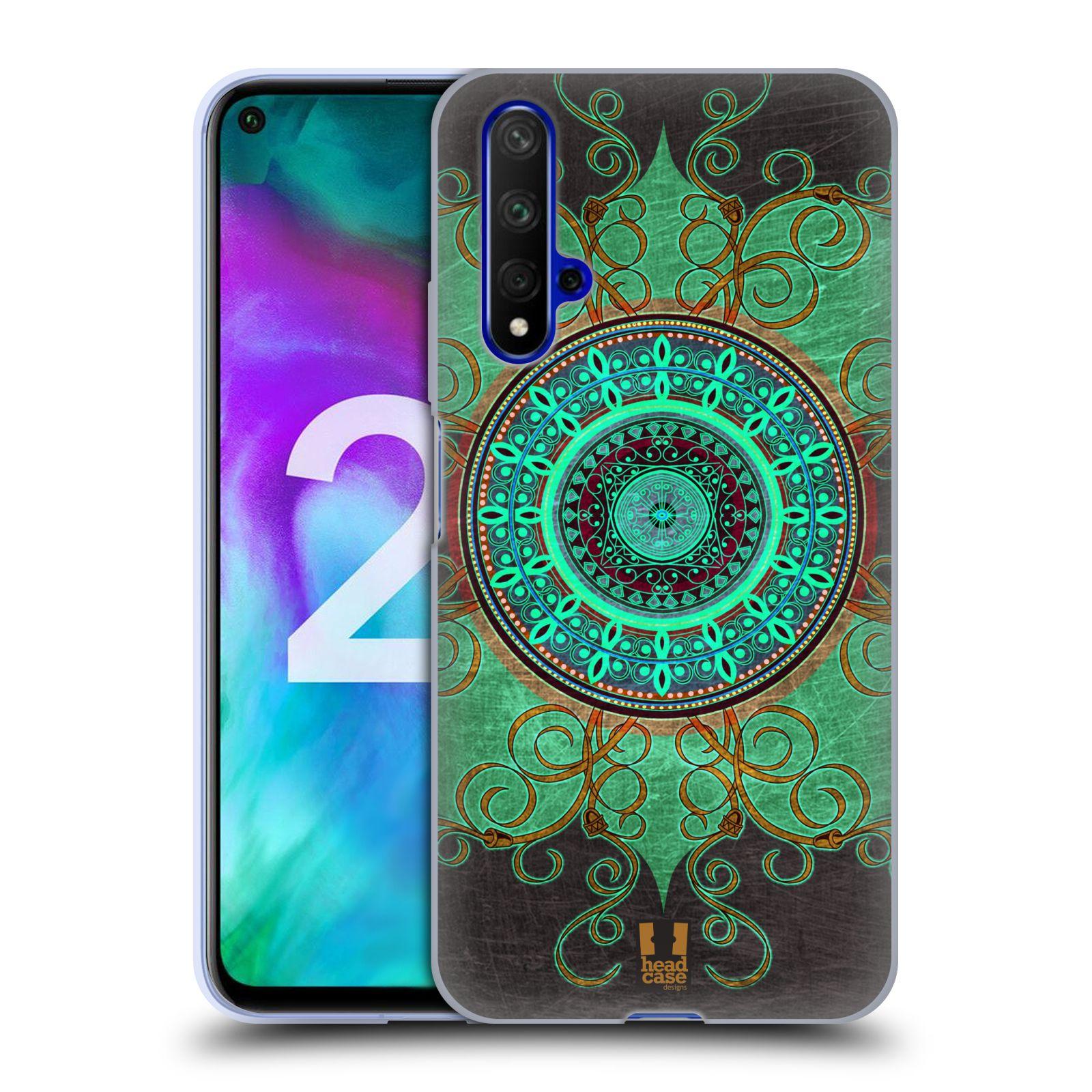 Silikonové pouzdro na mobil Honor 20 - Head Case - ARAB MANDALA