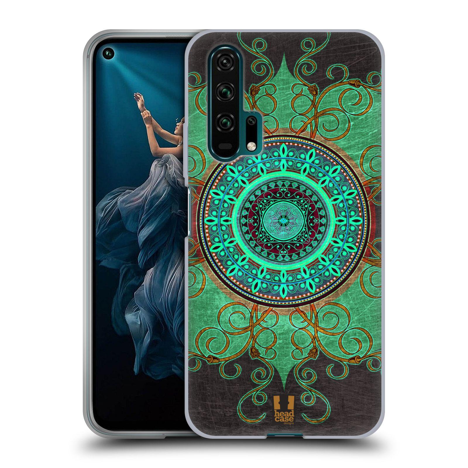 Silikonové pouzdro na mobil Honor 20 Pro - Head Case - ARAB MANDALA