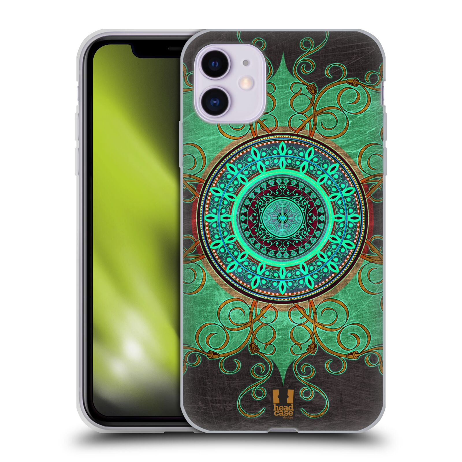 Silikonové pouzdro na mobil Apple iPhone 11 - Head Case - ARAB MANDALA