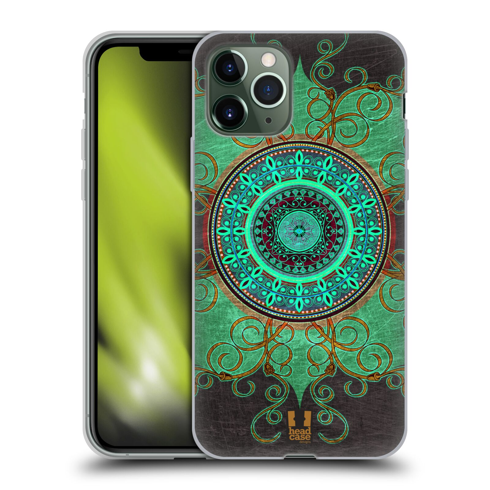 ebay krytu na iphone 8 plus - Silikonové pouzdro na mobil Apple iPhone 11 Pro - Head Case - ARAB MANDALA