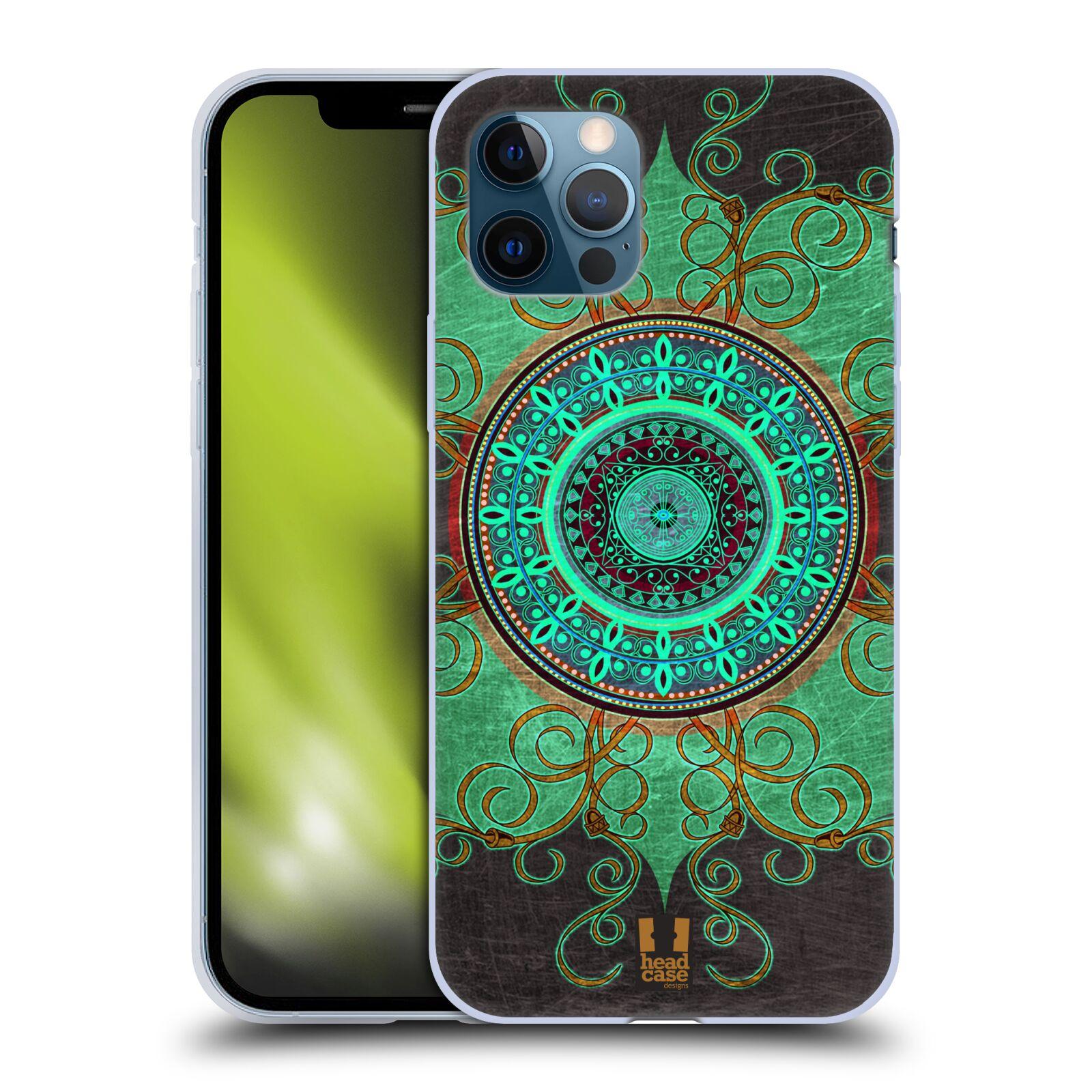 Silikonové pouzdro na mobil Apple iPhone 12 / 12 Pro - Head Case - ARAB MANDALA