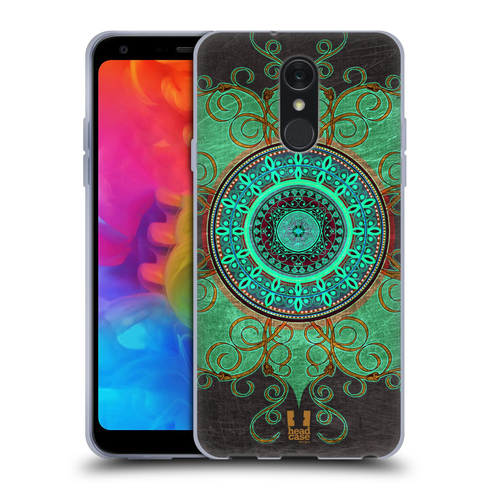 Silikonové pouzdro na mobil LG Q7 - Head Case - ARAB MANDALA
