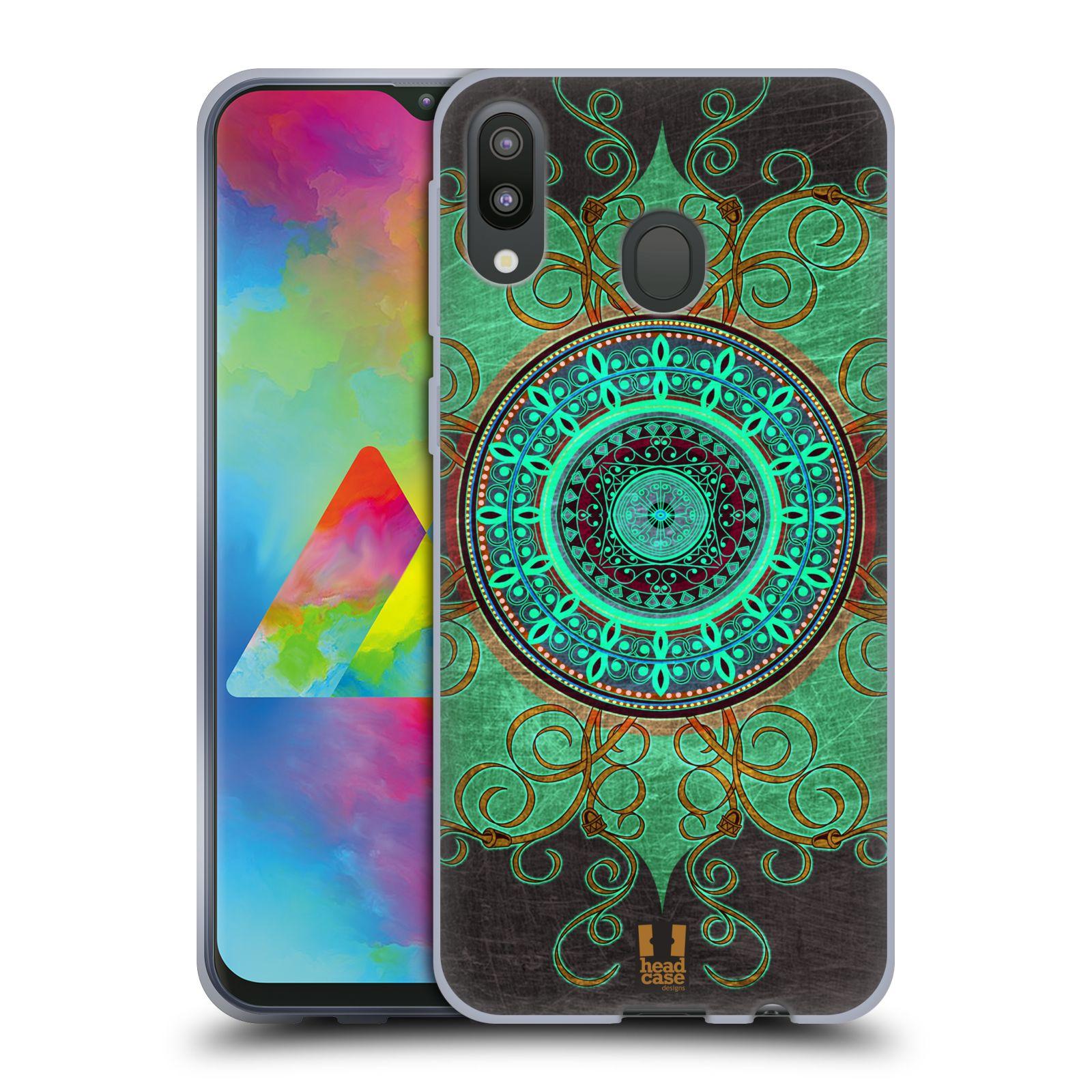 Silikonové pouzdro na mobil Samsung Galaxy M20 - Head Case - ARAB MANDALA